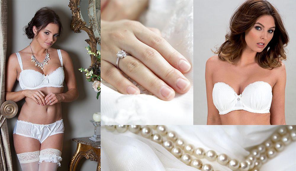 Busty bride in lingerie pics Bridal Lingerie Guide Pour Moi
