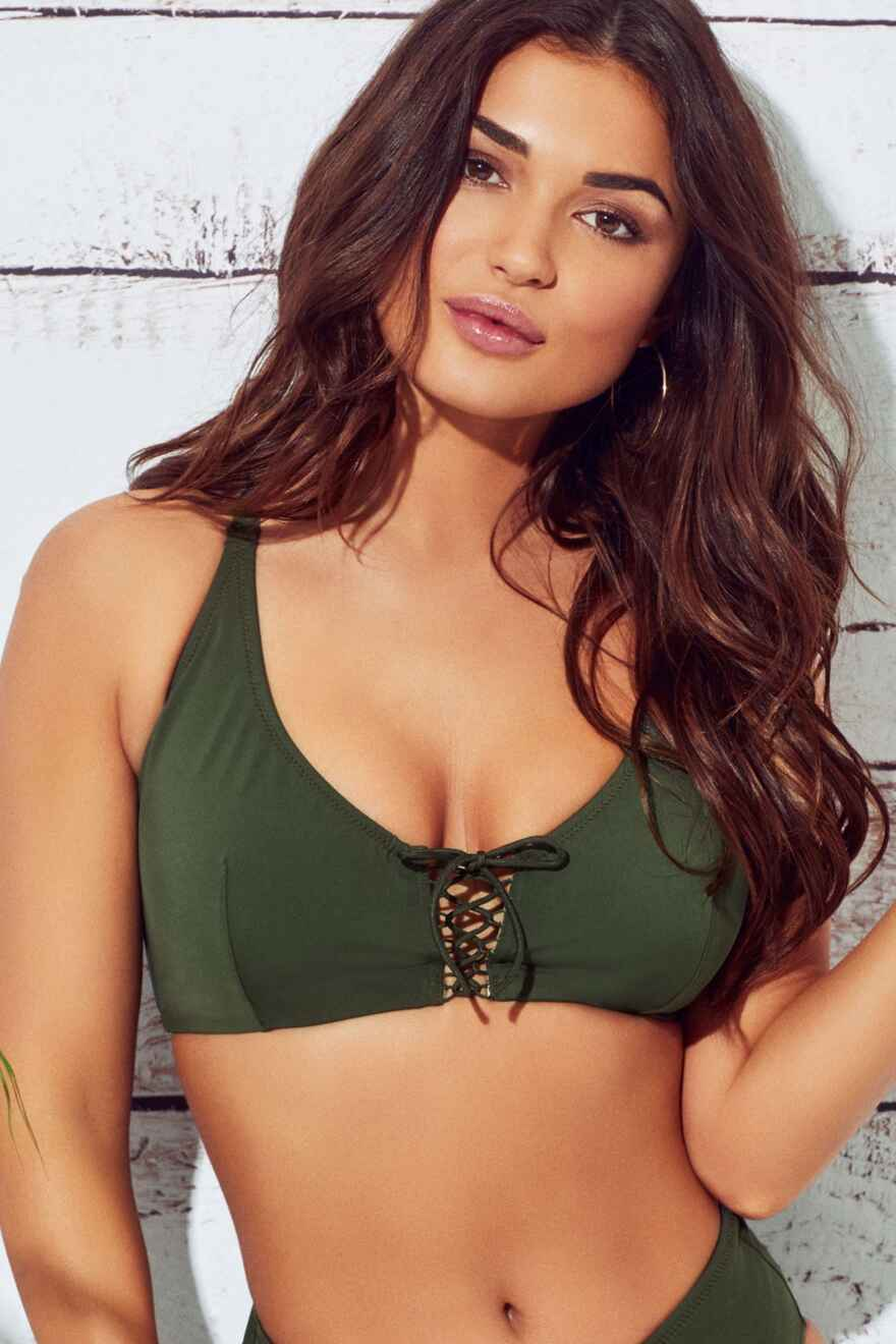 ad5447c8ae FORTNIGHT · LBB Rope Underwired Convertible Top - Khaki