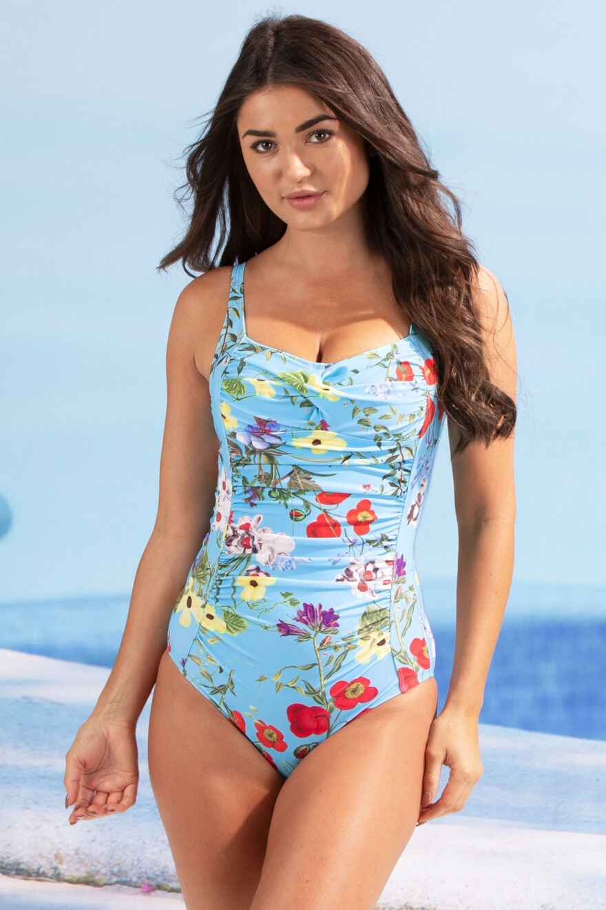 Odyssey Ruched Control Swimsuit - Seville bf92149381bdf