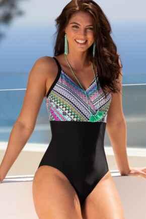 Odyssey V Neck Control Swimsuit - Riviera Maya