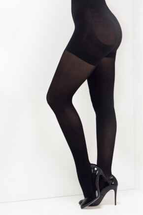 Definitions 40 Denier Shaping Control Tights - Black