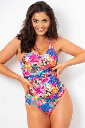 Heatwave Scoop Neck Control Swimsuit  - Barbados
