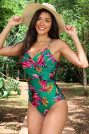 Paradiso Control Swimsuit - Green