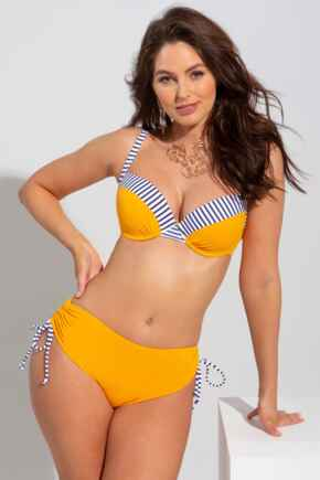Positano Lightly Padded Underwired Top - Yellow