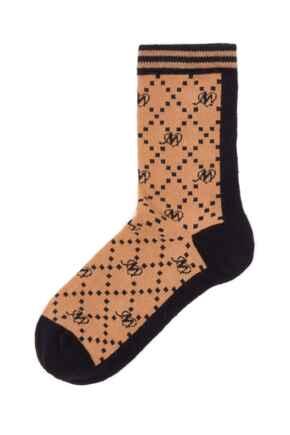 Pippa Pour Moi Logo Sock - Tan