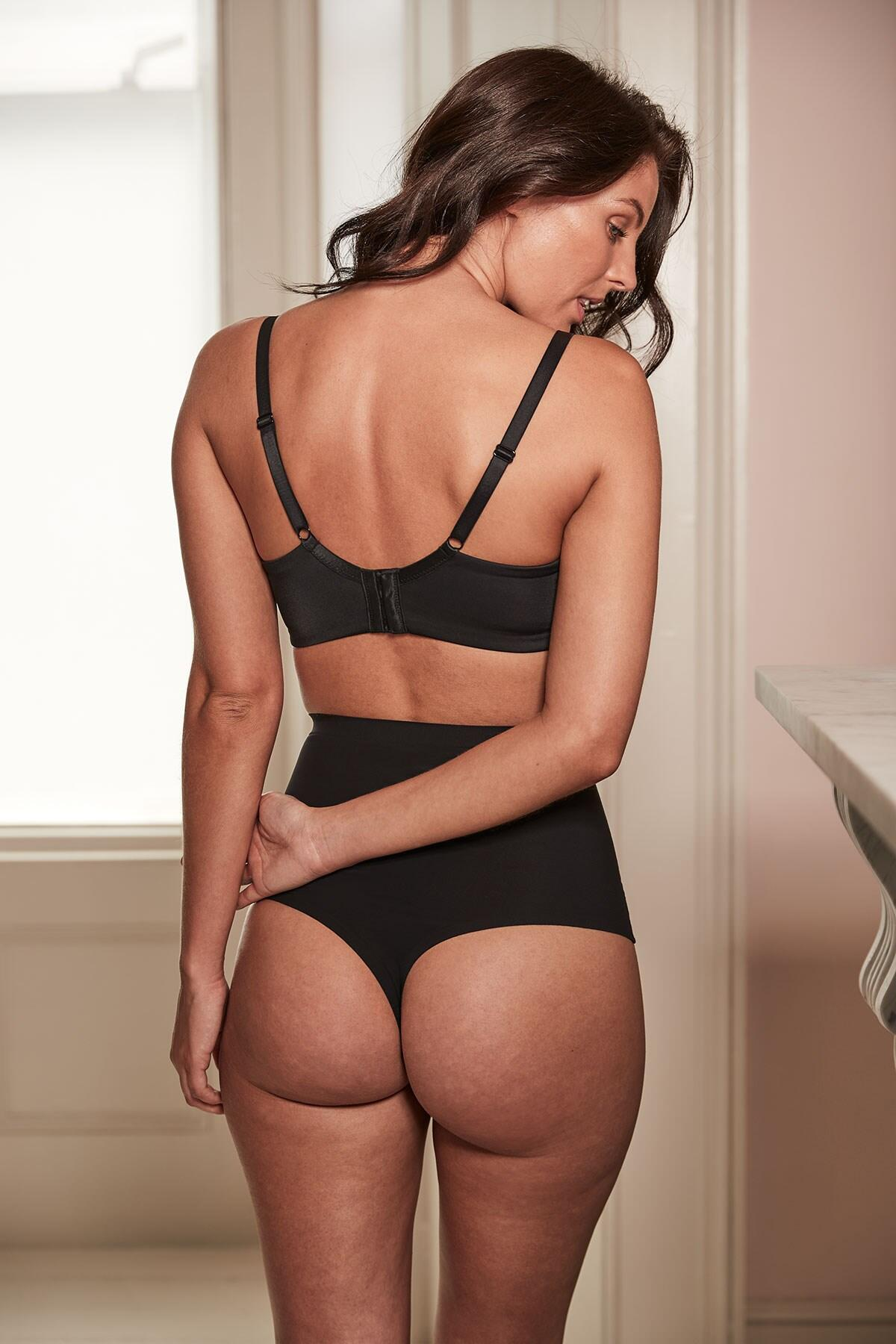 673dabe2d3 Pour Moi Definitions Shaping Control Thong Black