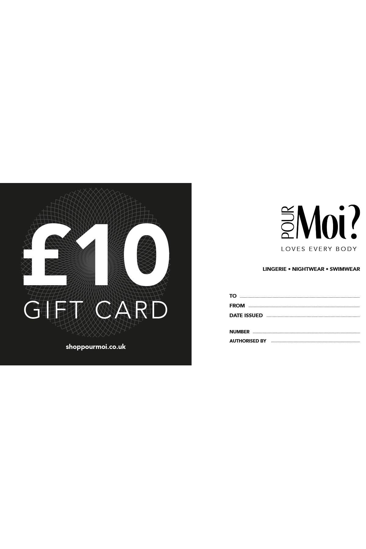 Gift Vouchers - £10