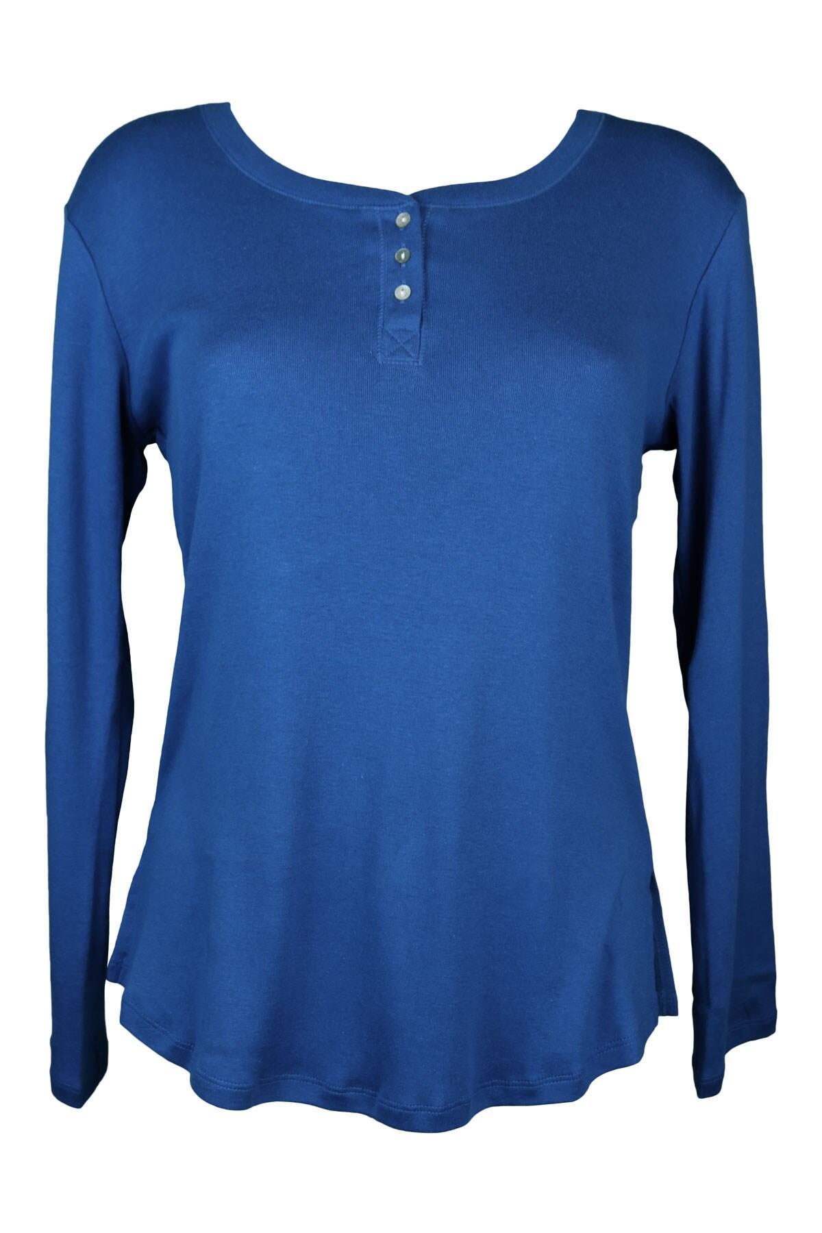 Magenta Madness Knit Top - Blue