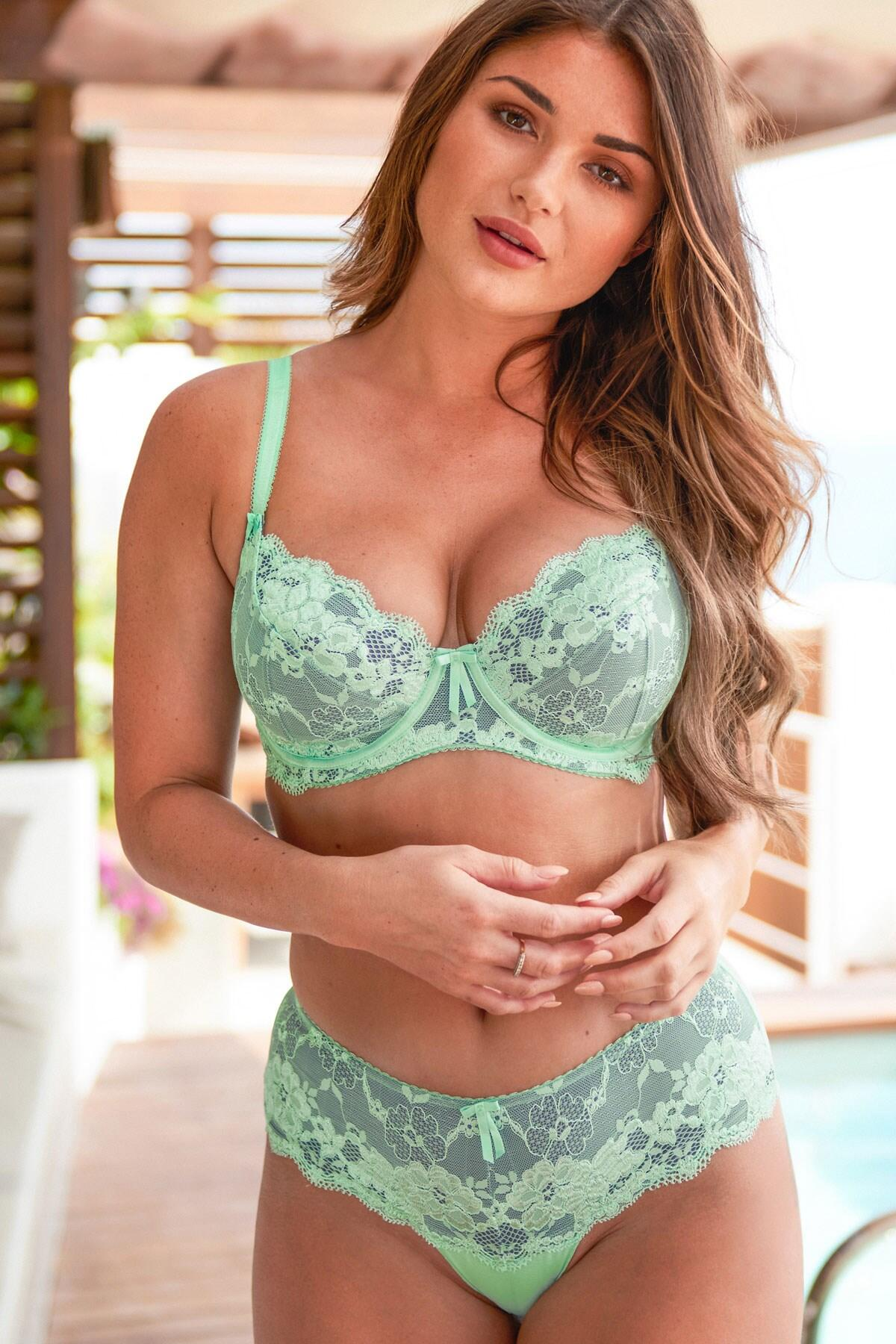 Amour Shorty - Mint/Silver