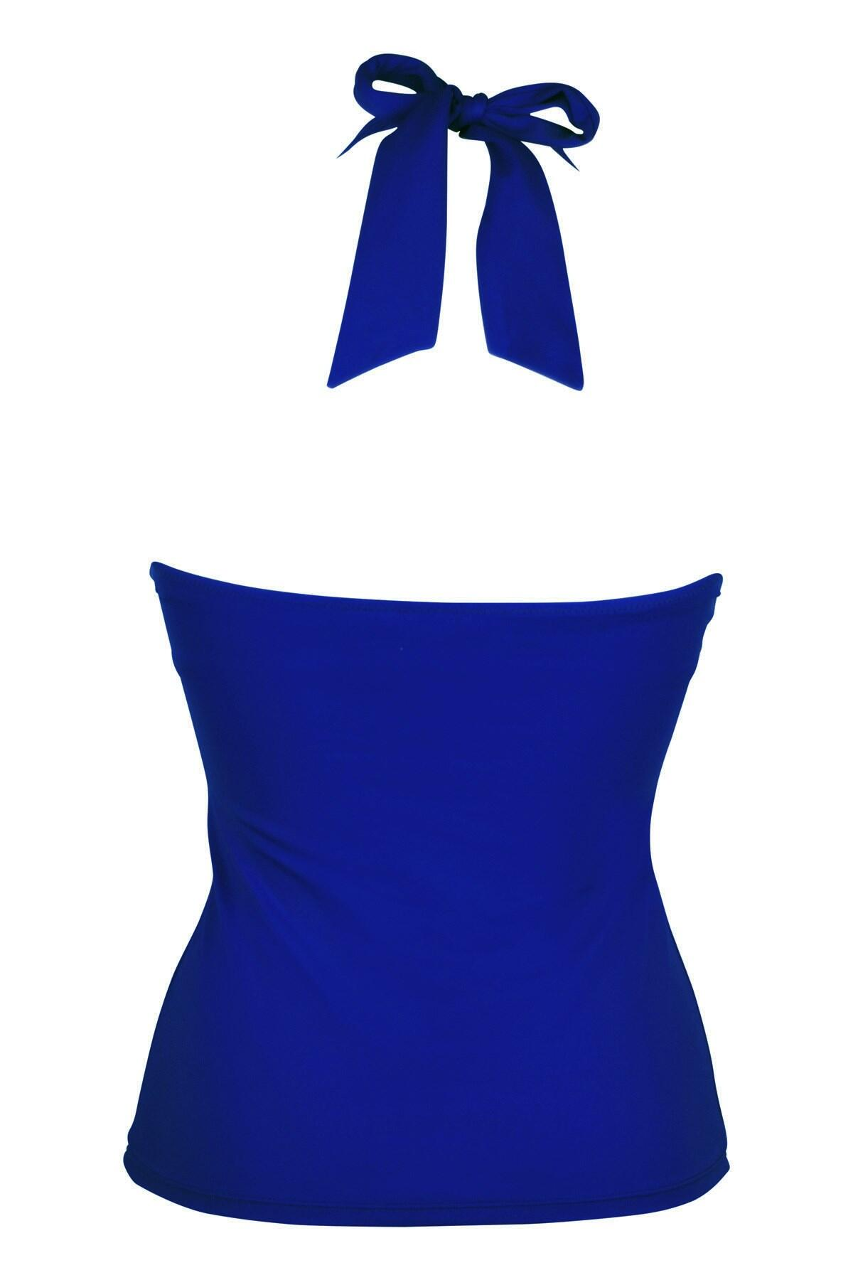 80006 Pour Moi Getaway Hidden Underwired Tankini Blue