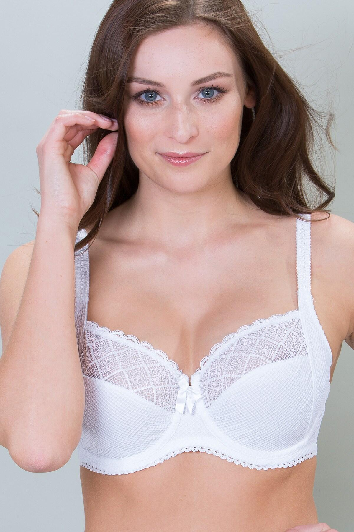 Electra Side Support Underwired Bra - White