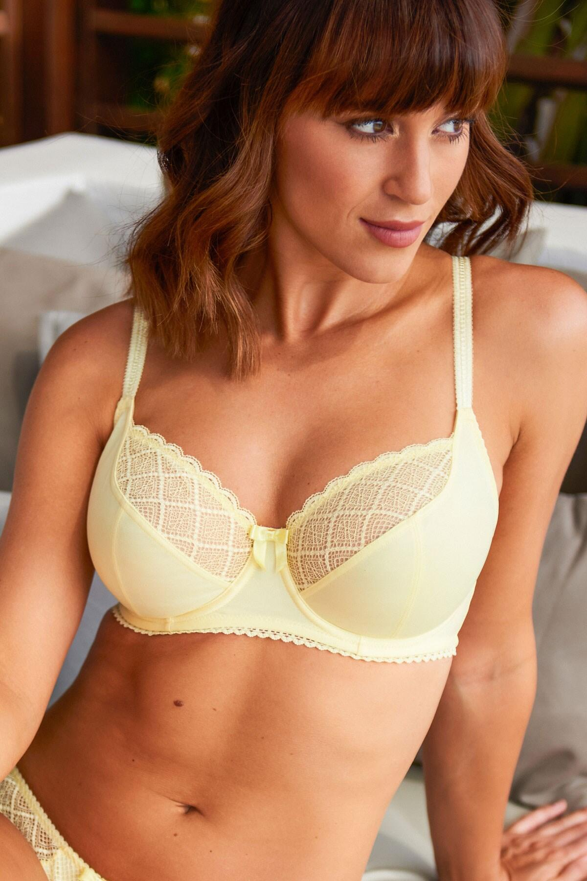 Electra Underwired Bra - Yellow