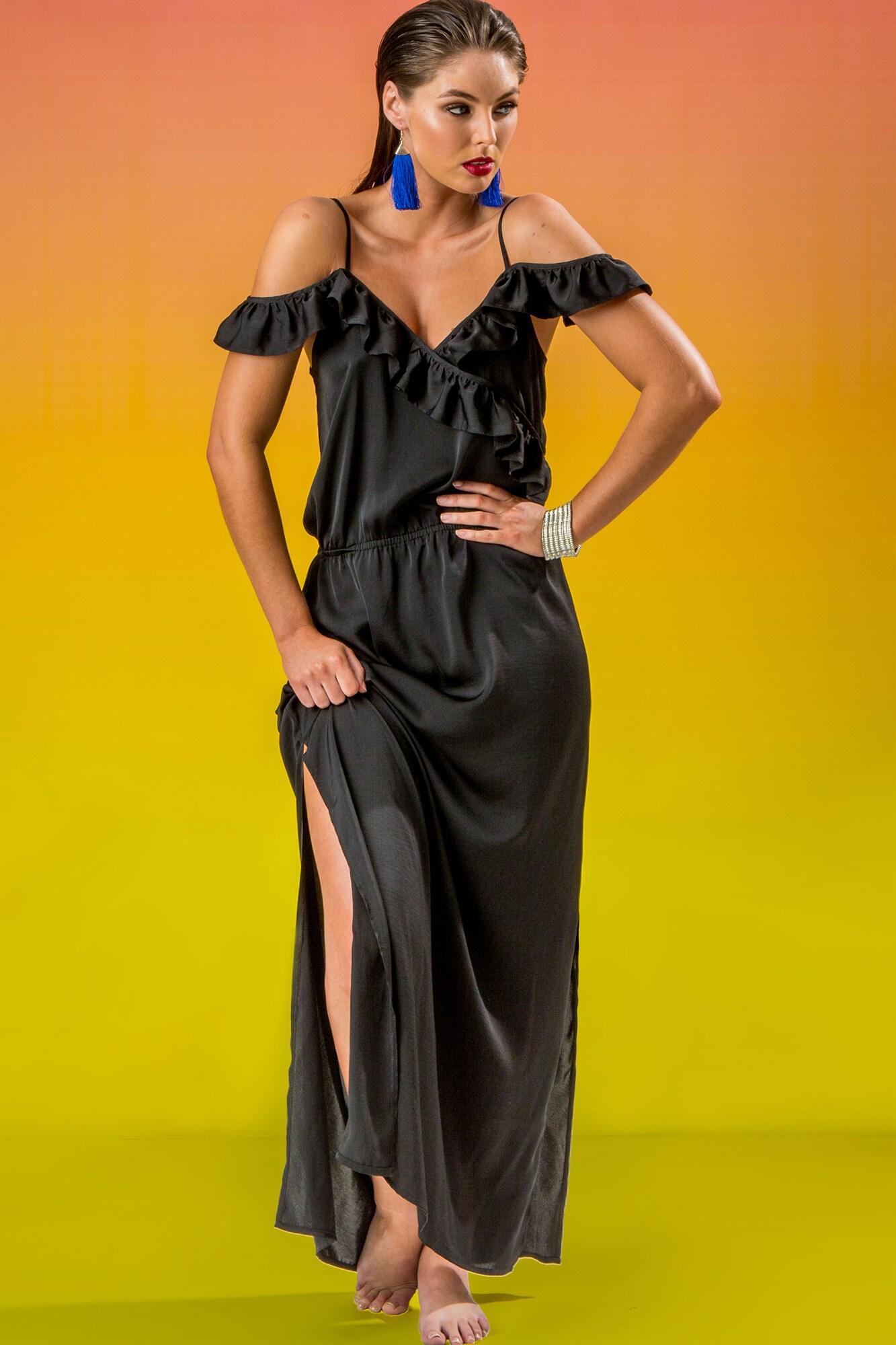 Mardi Gras Dress - Black