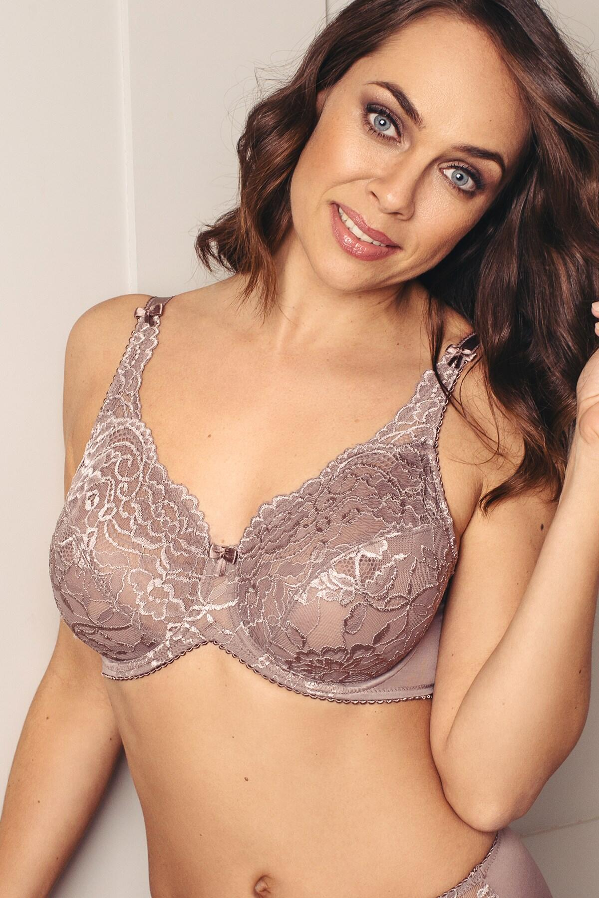 Eternal Full Coverage Bra - Soft Mink