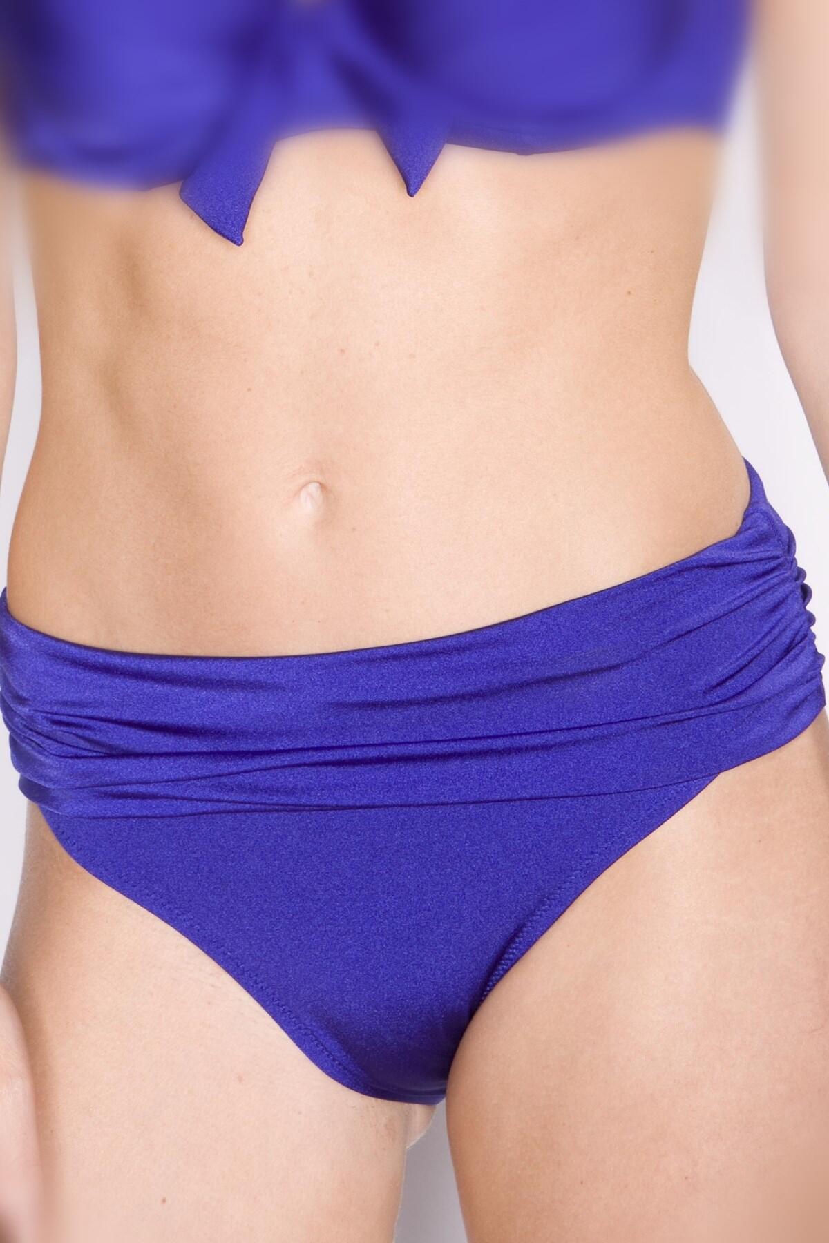 Azure Ruched Pant - Royal Blue