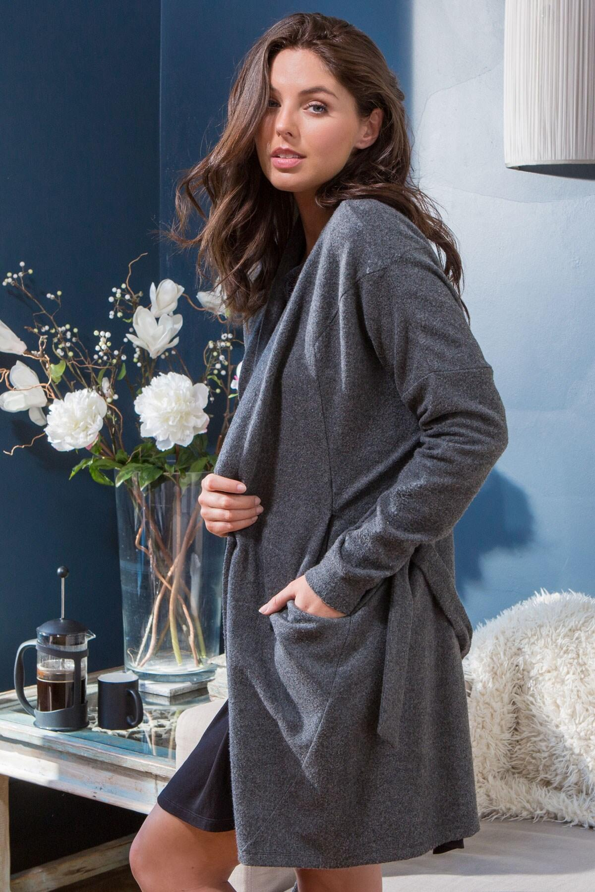 Sofa Love Supersoft Marl Wrap - Grey