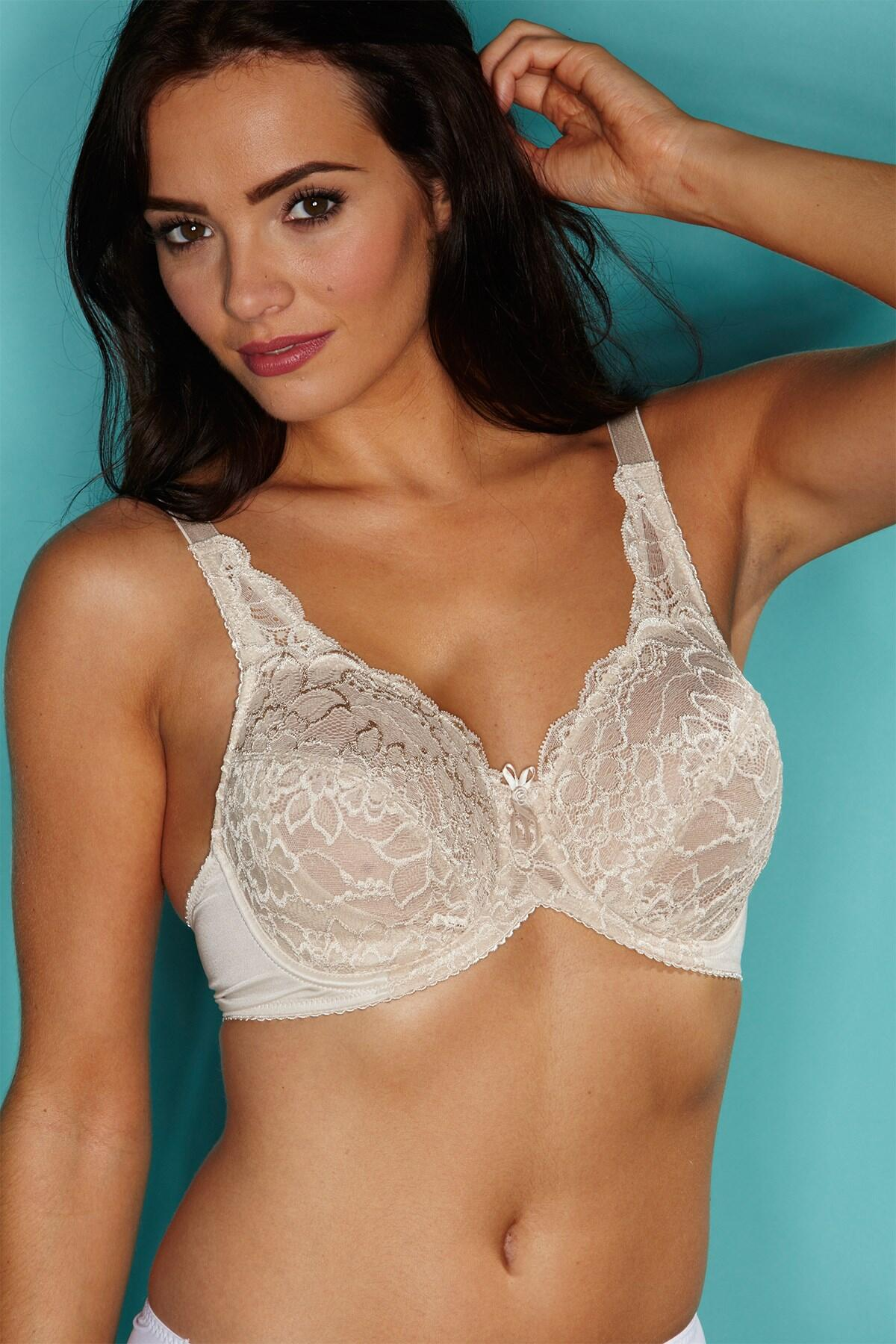 Imogen Rose Lace Full Cup - Skin
