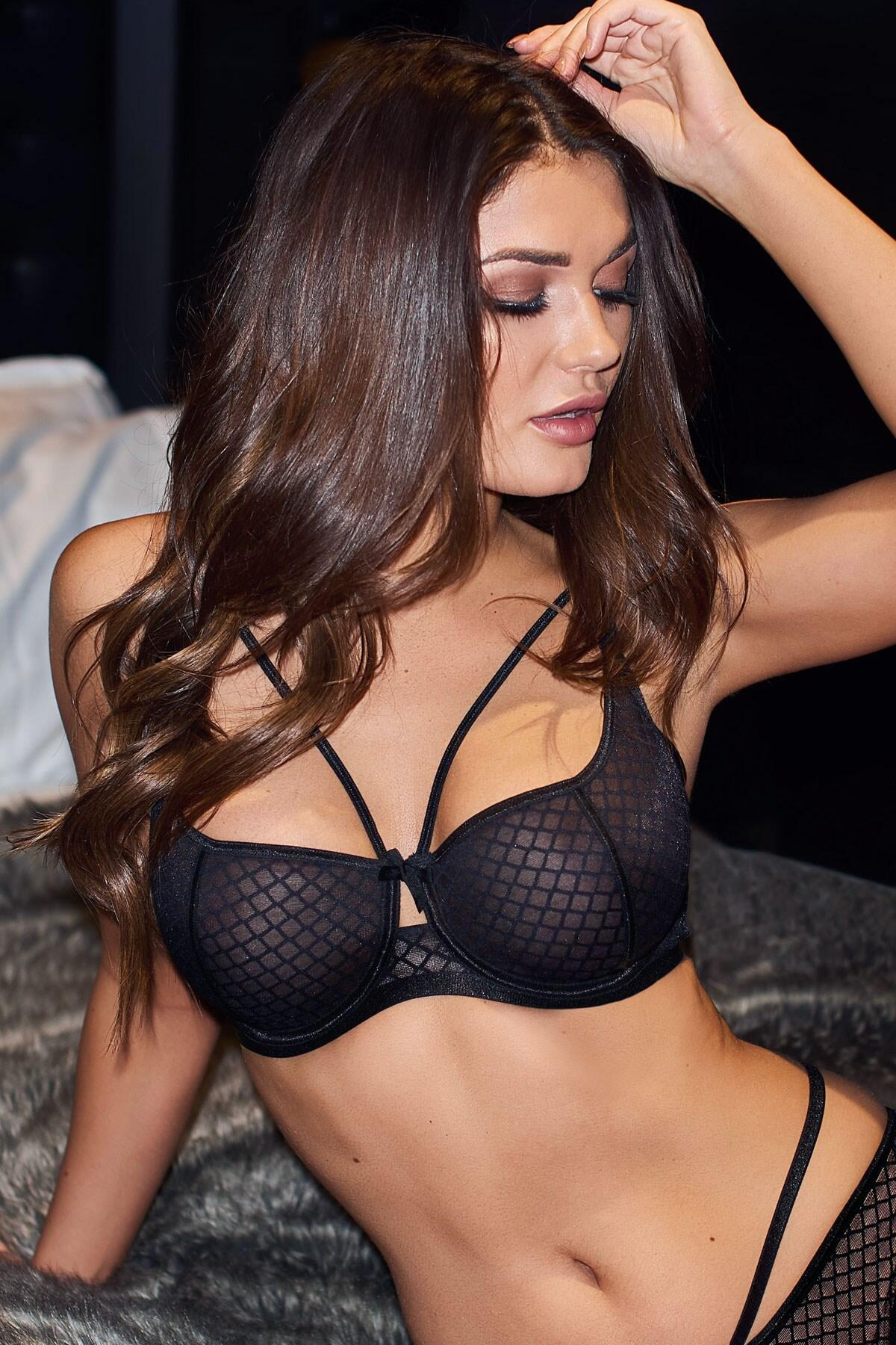 Illicit Underwired Bra - Black