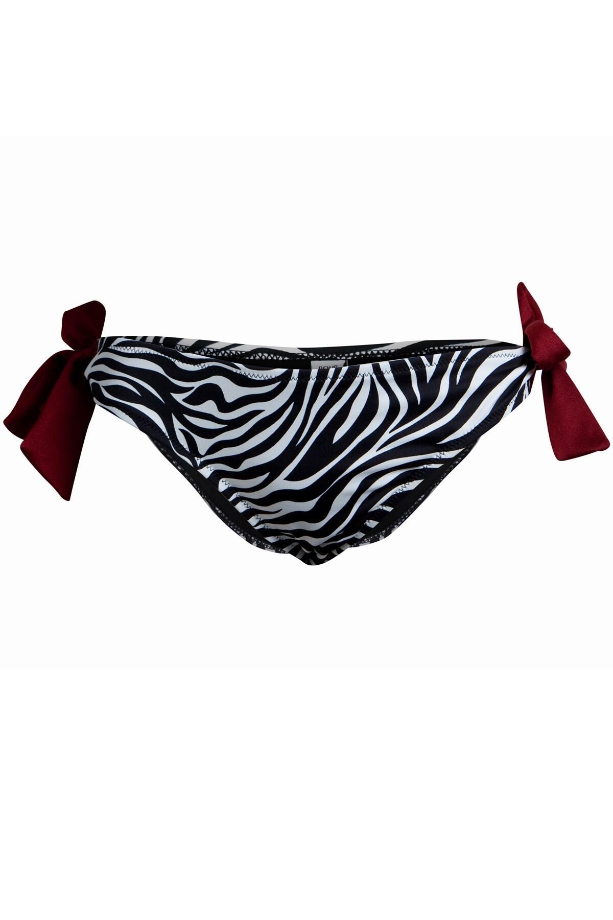 Safari Tie Side Brief - Zebra