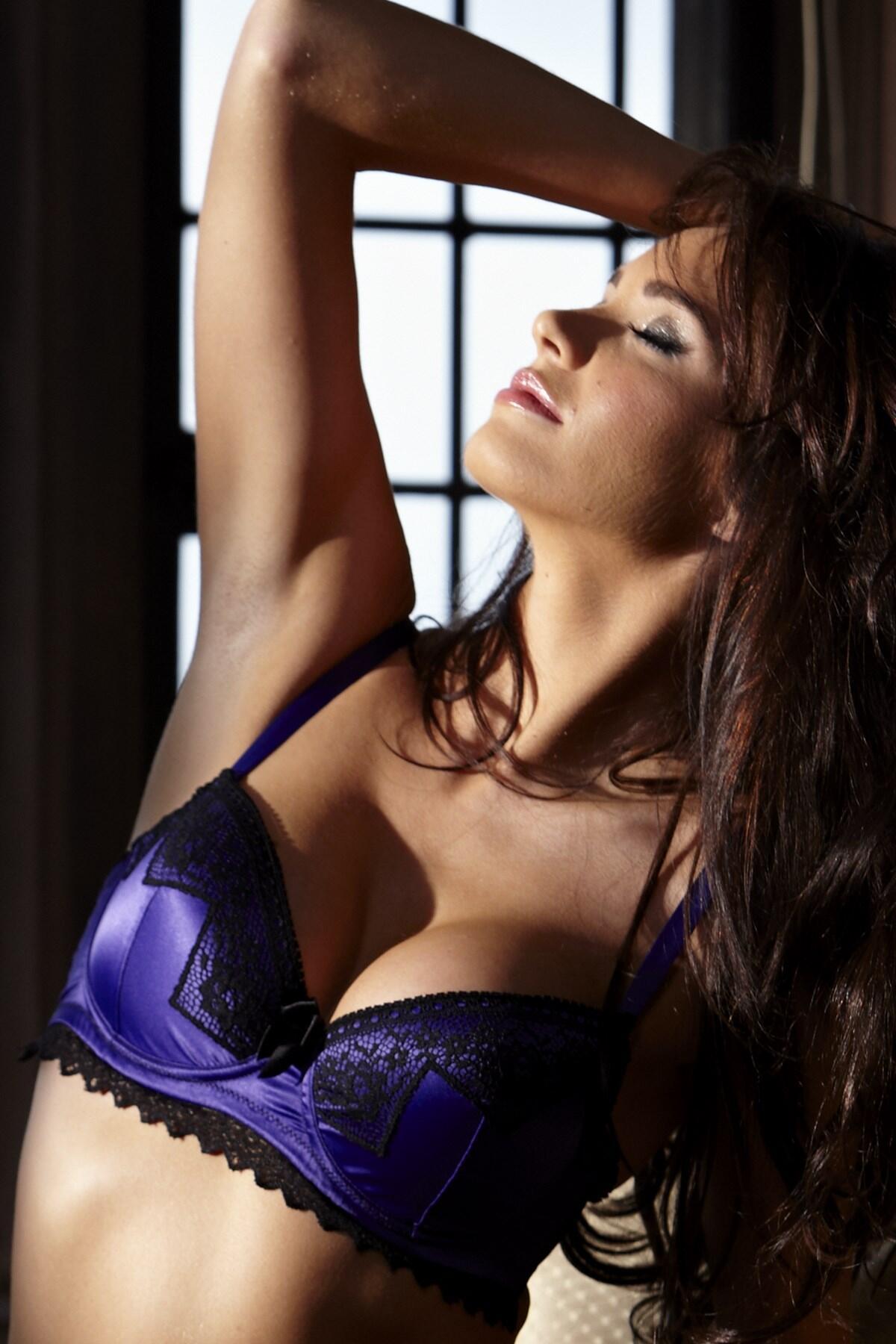 Liaison Padded Bra - Purple
