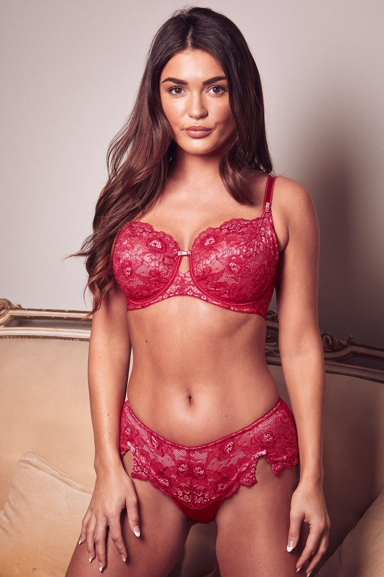 Opulence Shorty - Red/Pink