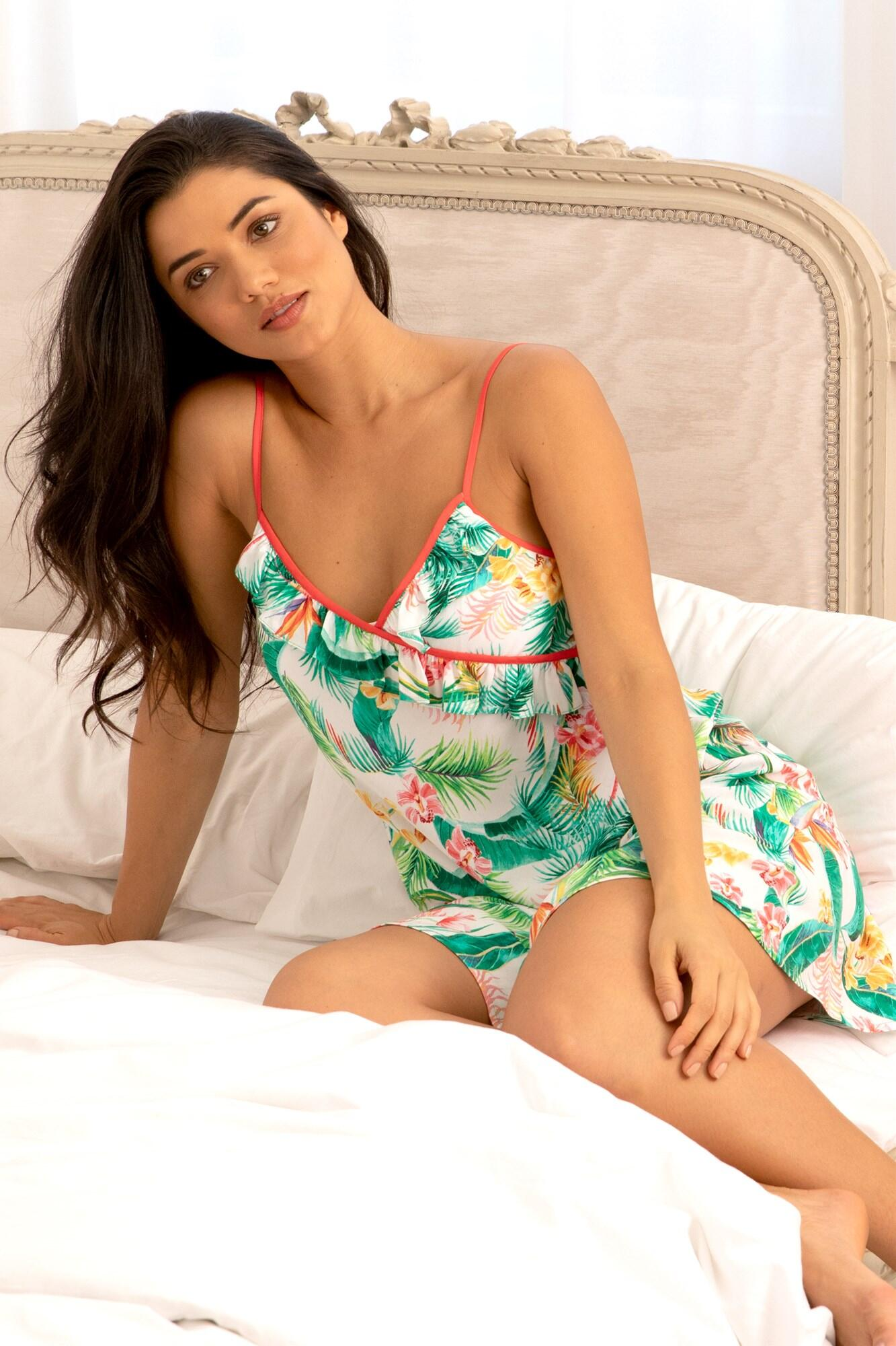 Tropics Secret Support Chemise - Multi