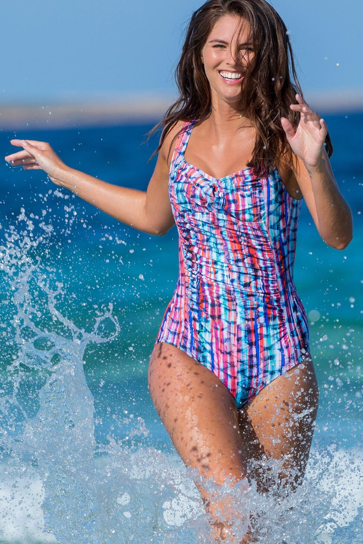 Ocean Bay Control Swimsuit - Multi