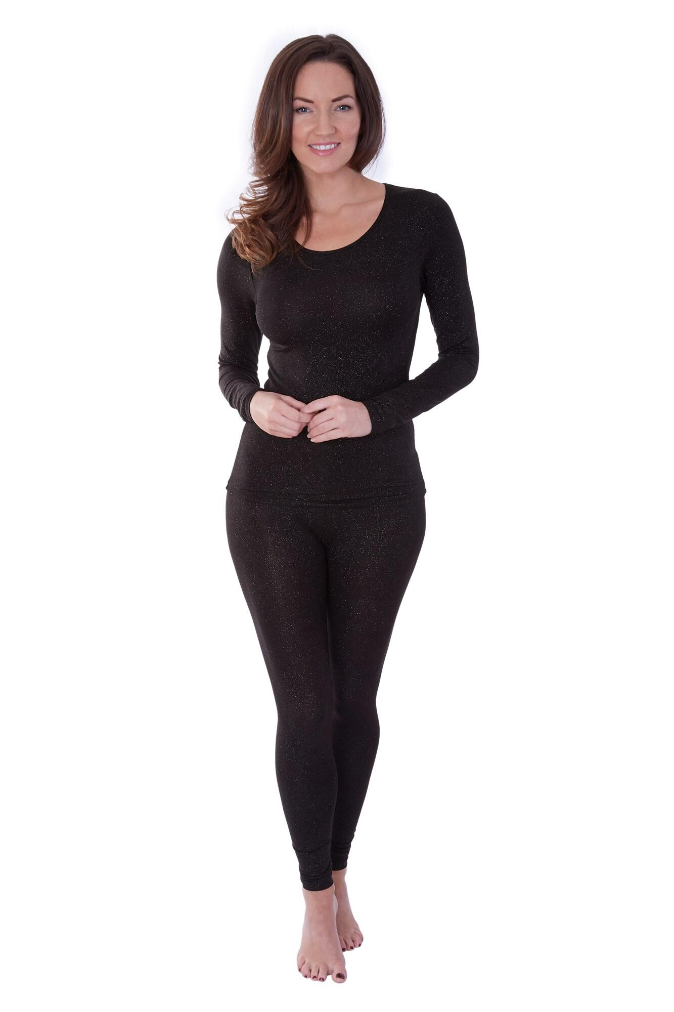 Second Skin Thermal Leggings - Black