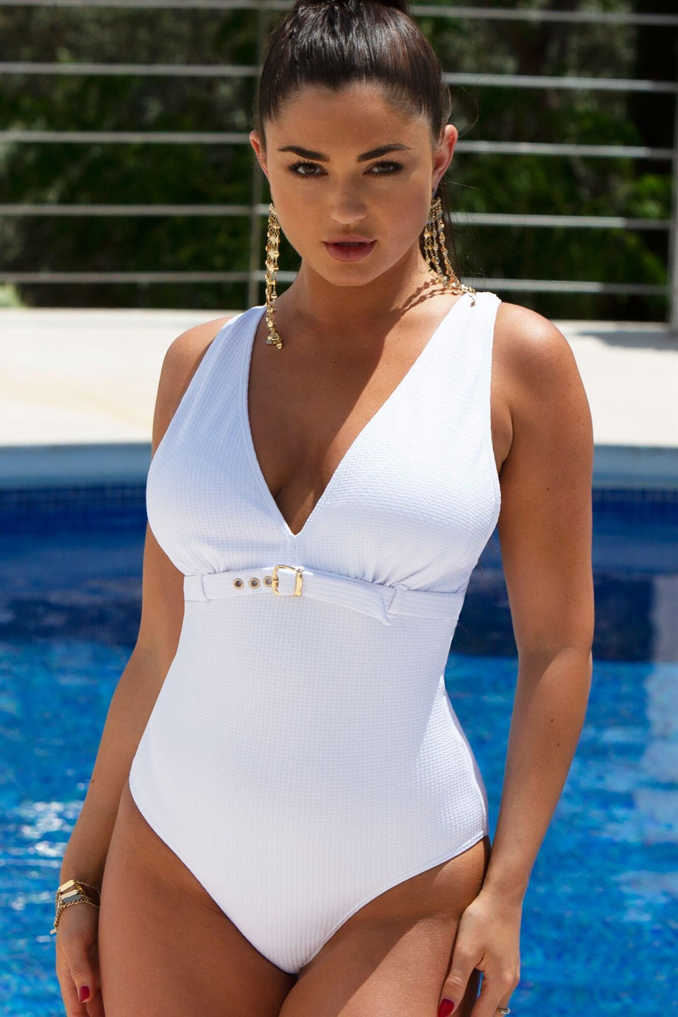 Sol Beach Swimsuit - White