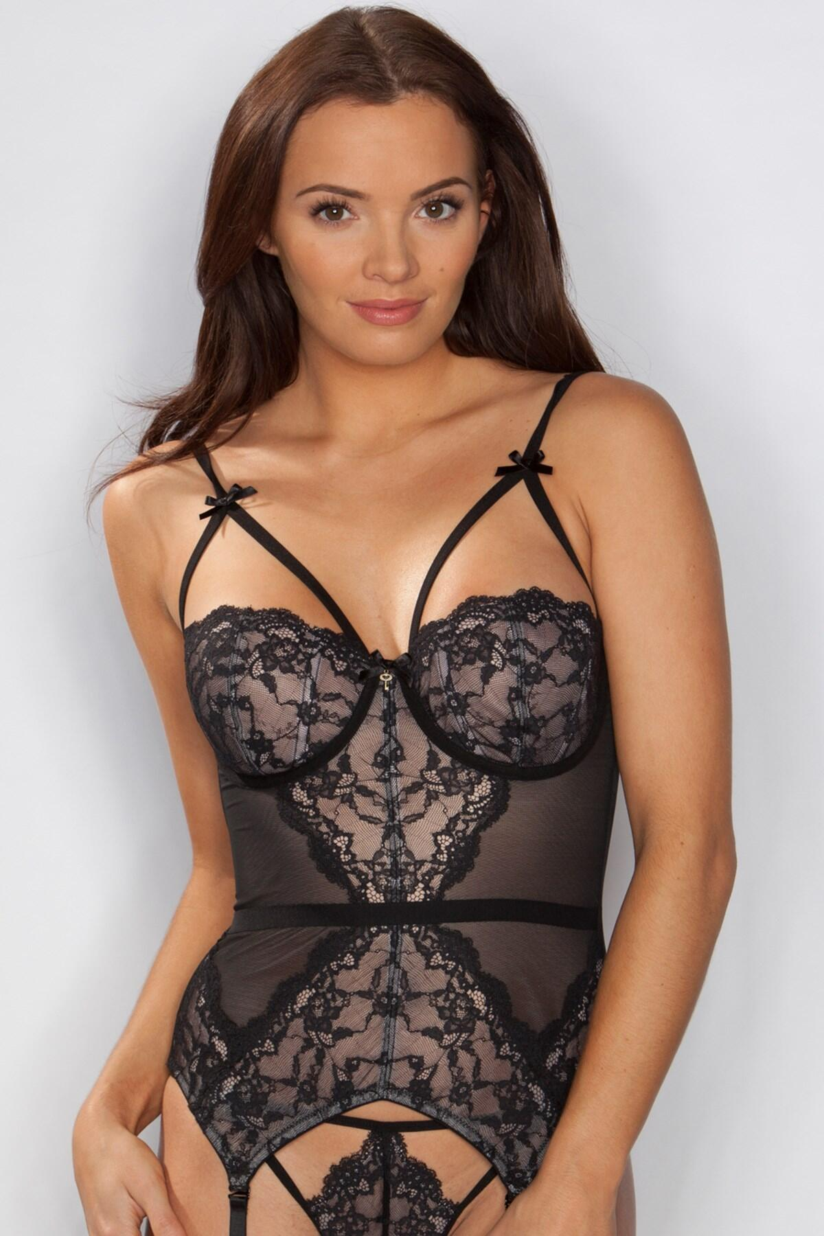 Forbidden Basque - Black/Pink