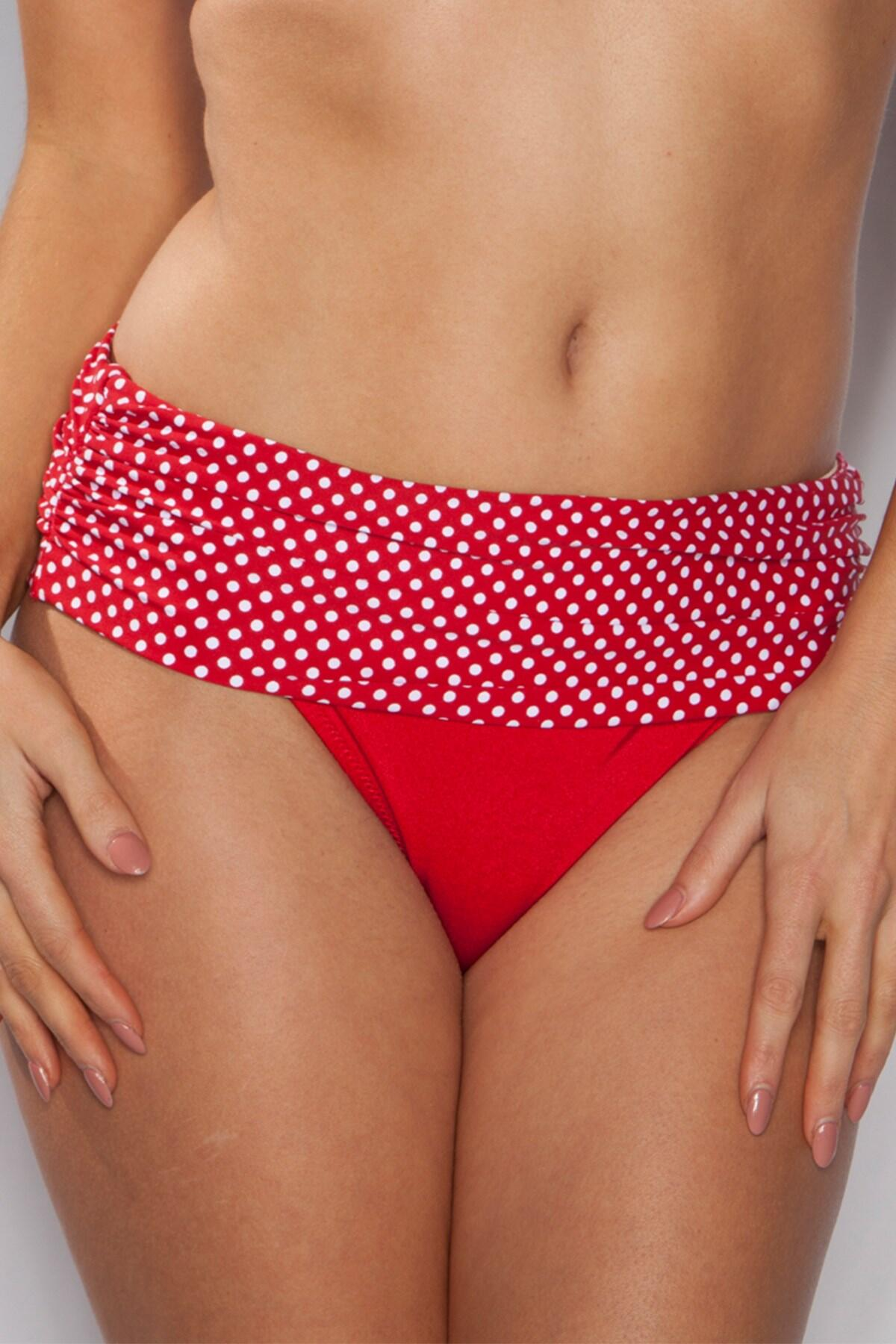 Spice Island Ruched Pant - Red