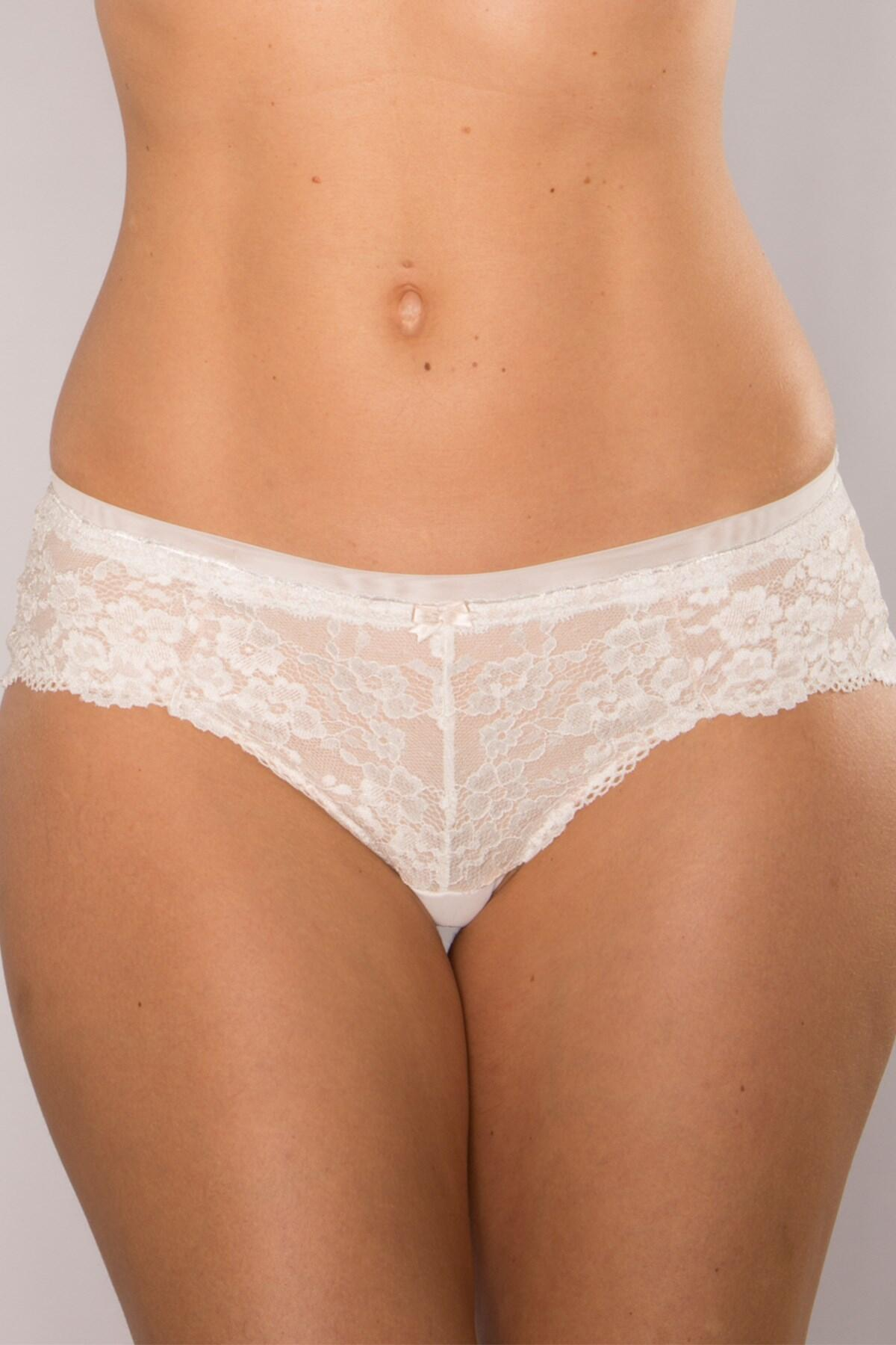 Love Lace Shorty - Cream/Caramel