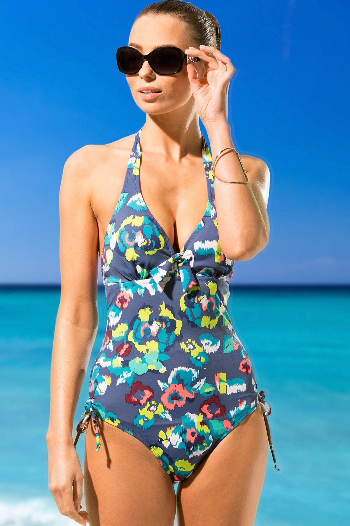 Coral Reef Underwired Suit - Multi