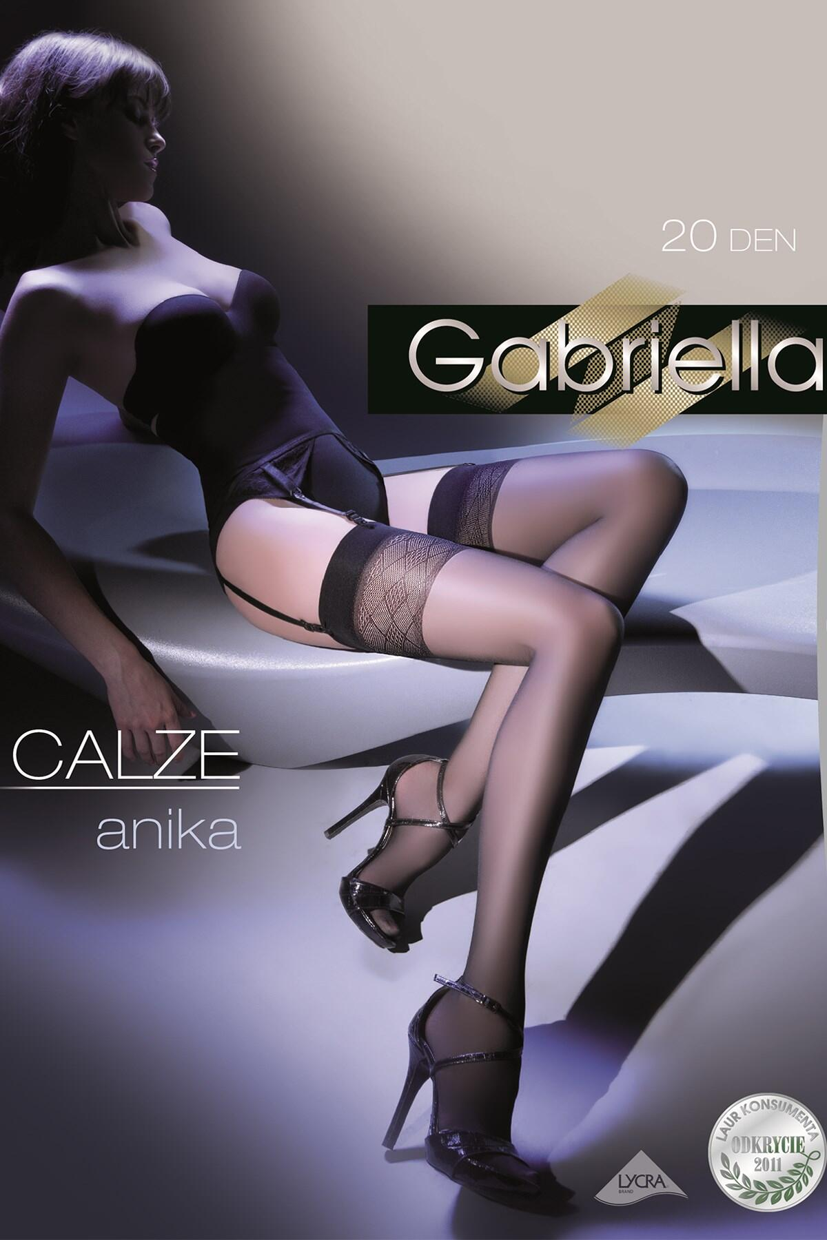 Gabriella Anika Stockings - Black