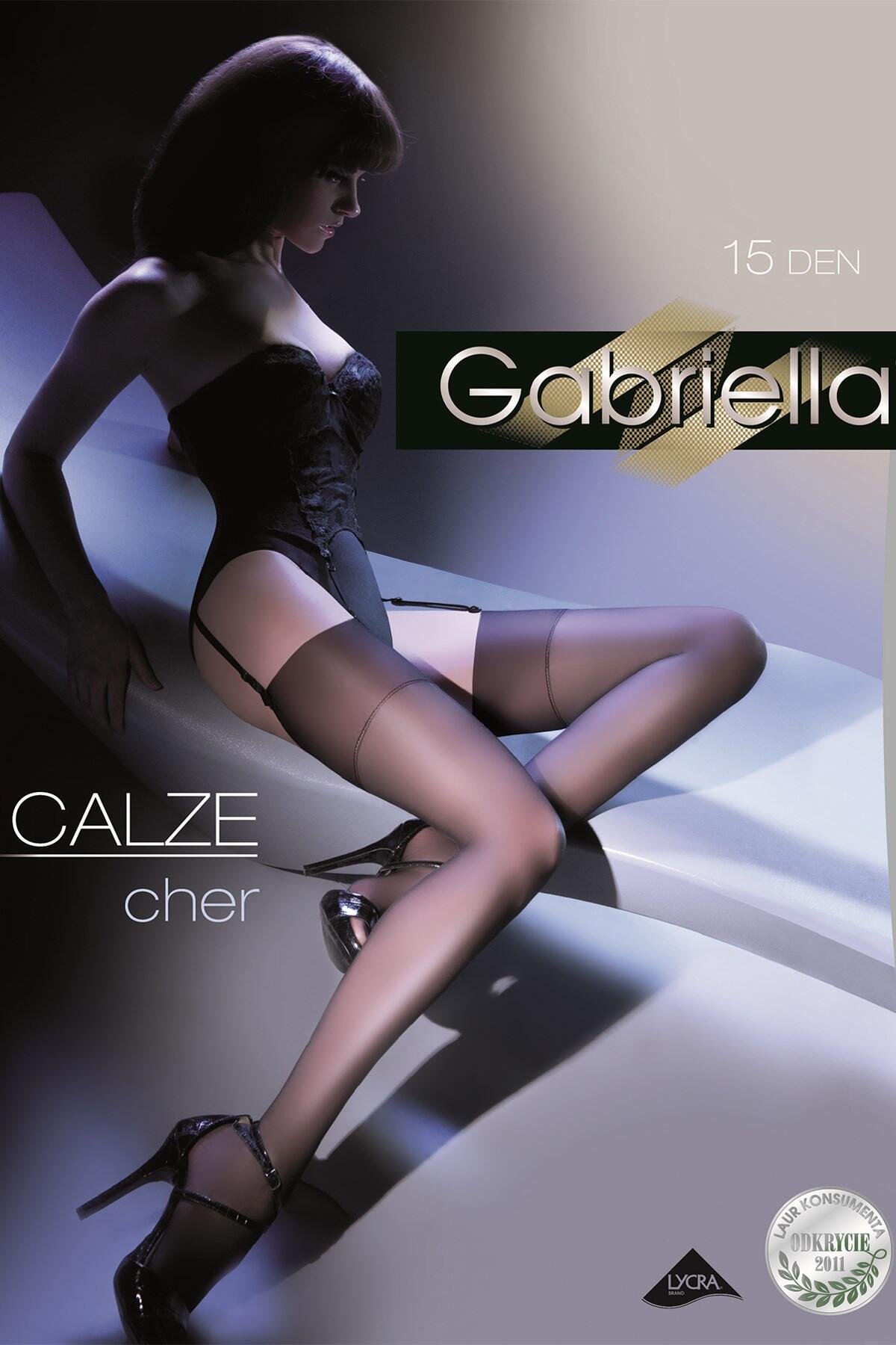 Gabriella Cher Stockings - Black