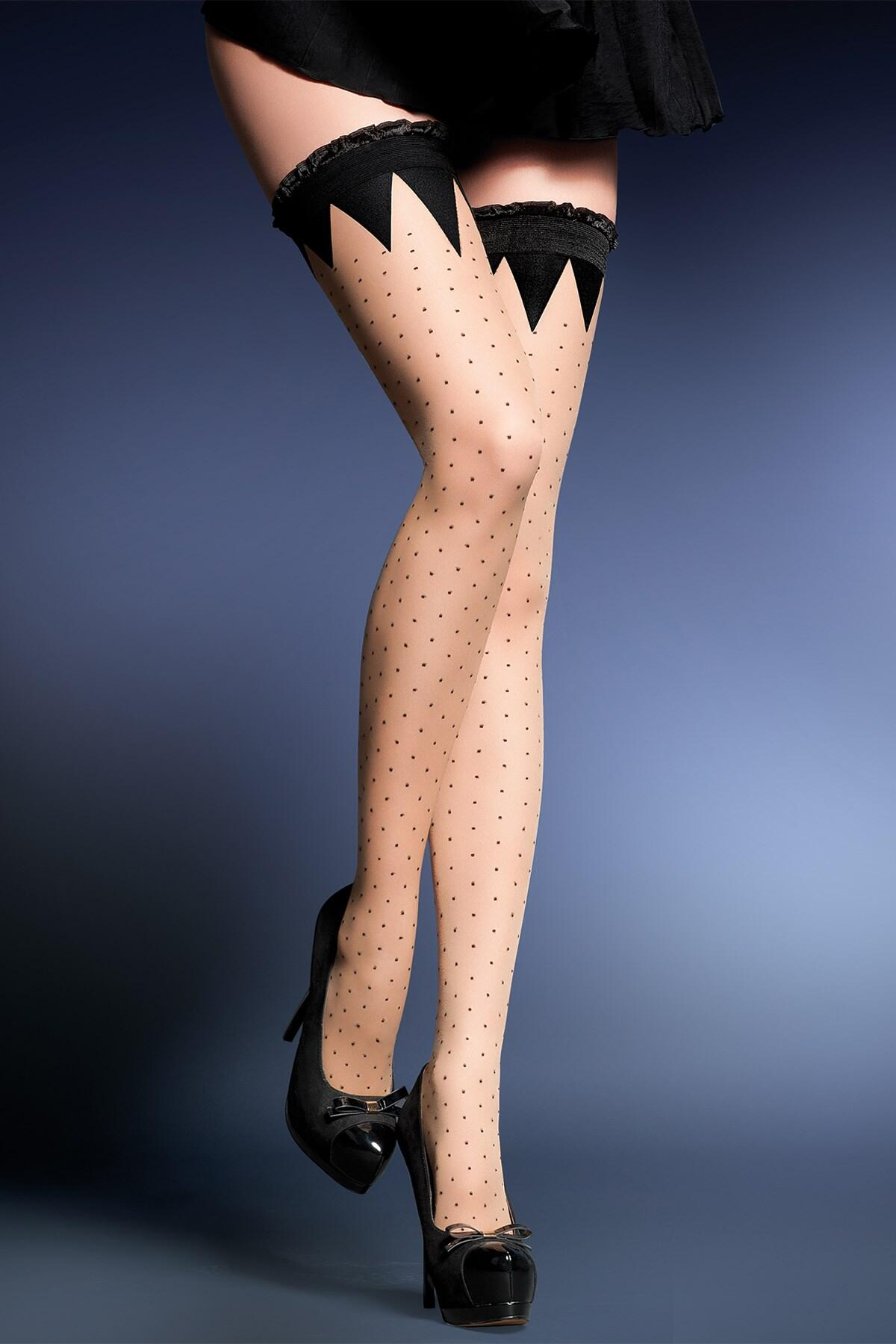 Gabriella Kara Hold Ups - Black