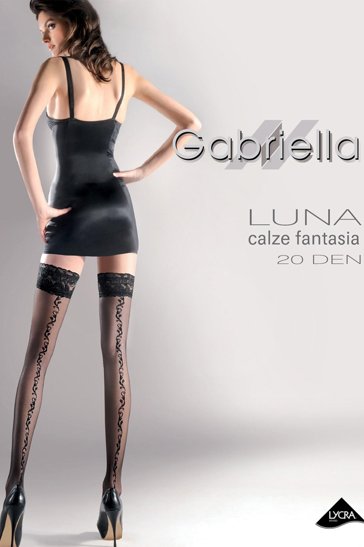 Gabriella Luna Hold Ups - Black