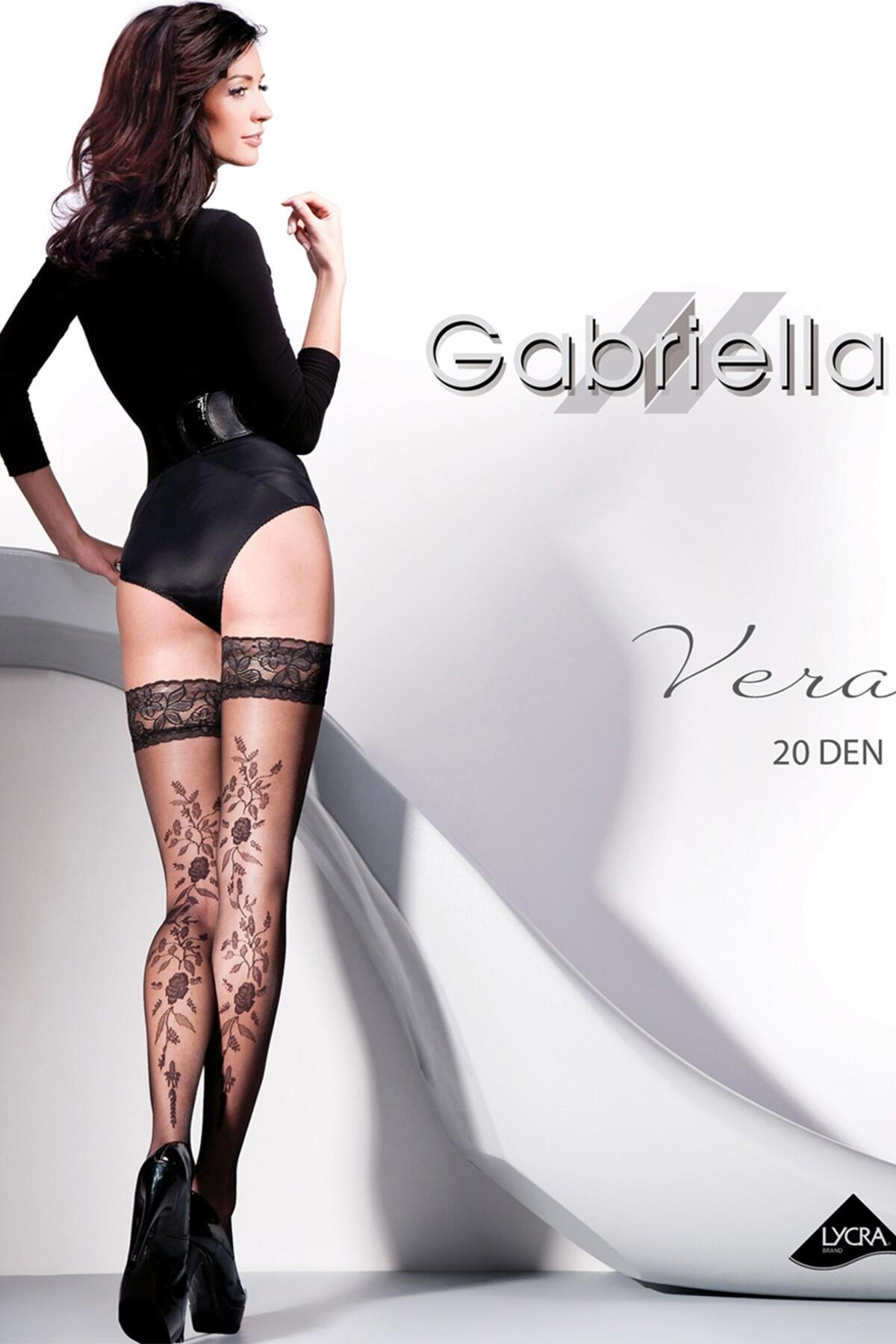 Gabriella Vera Hold Ups - Black