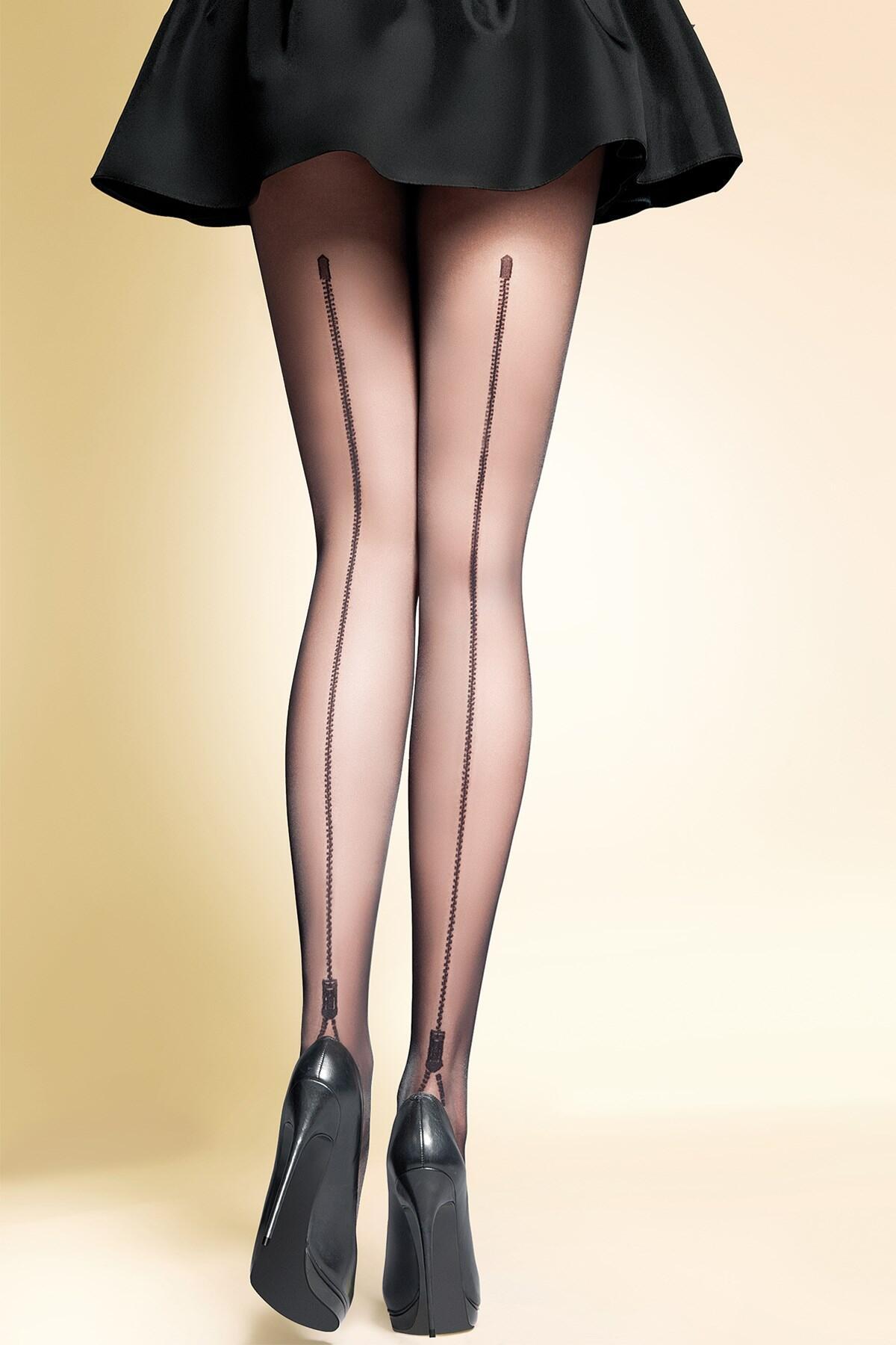 Gabriella Blanca Fashion 20 Den Lycra - Black