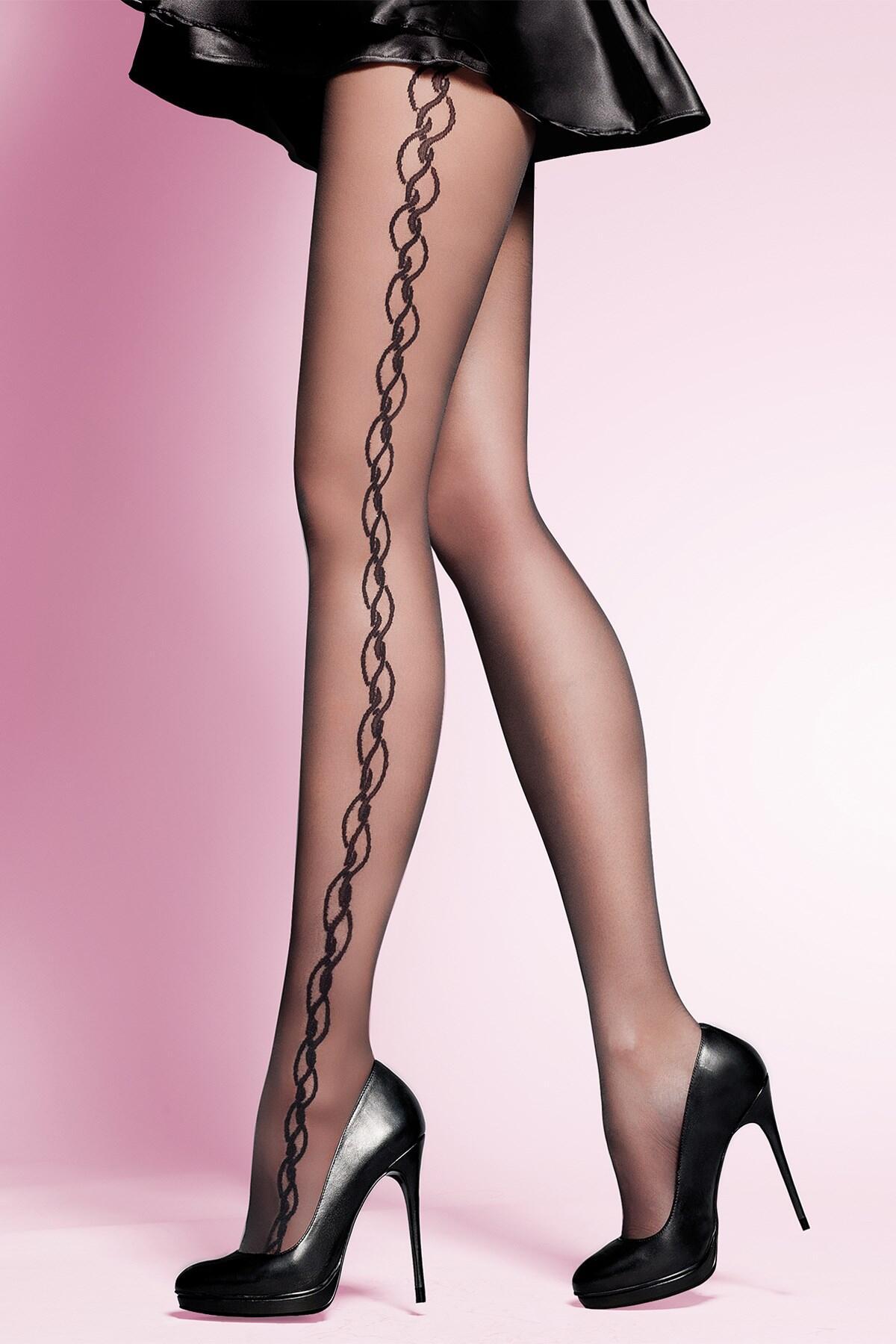 Gabriella Suzan Fashion 20 Den Lycra - Black