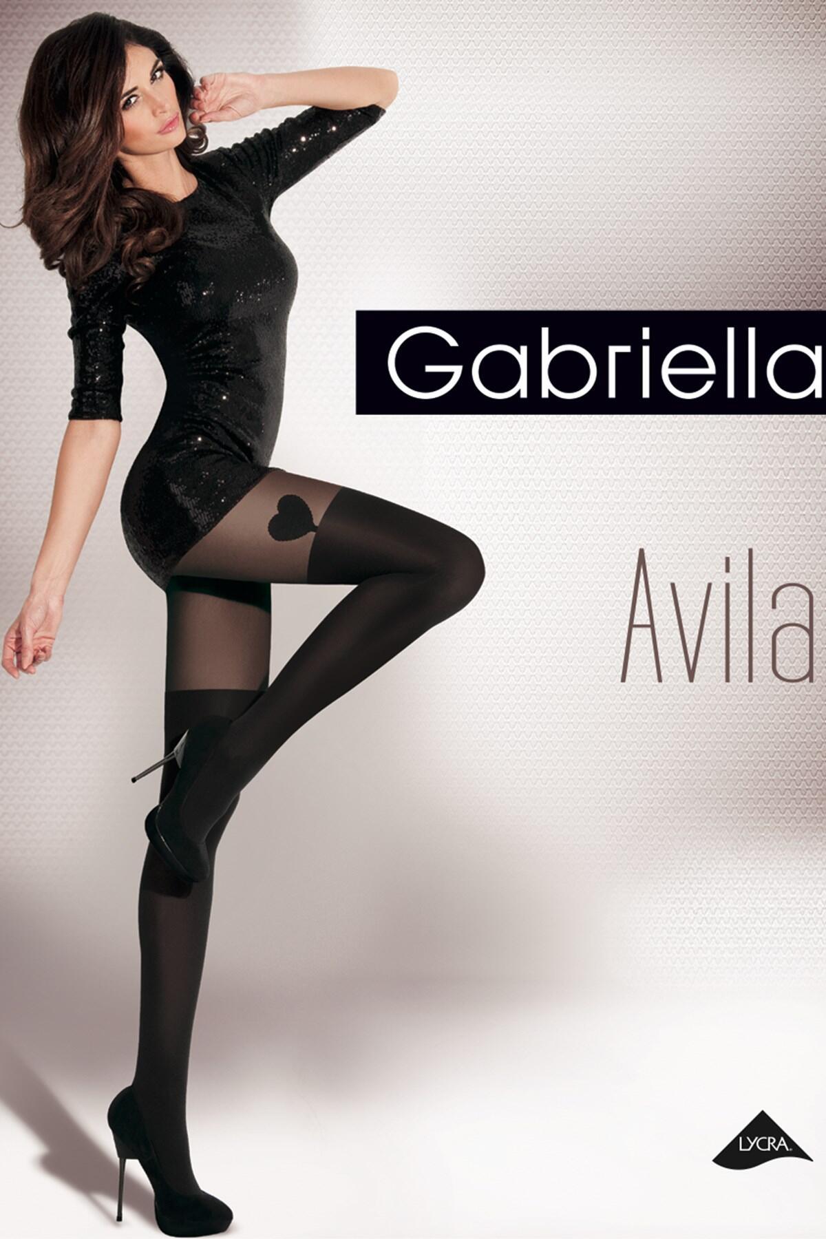 Gabriella Avila Fashion 40 Den Micro - Black