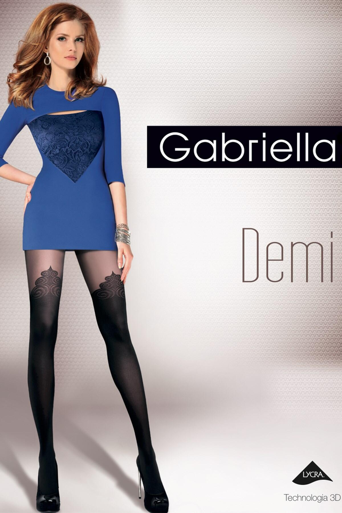 Gabriella Demi Fashion 40 Den Micro - Black