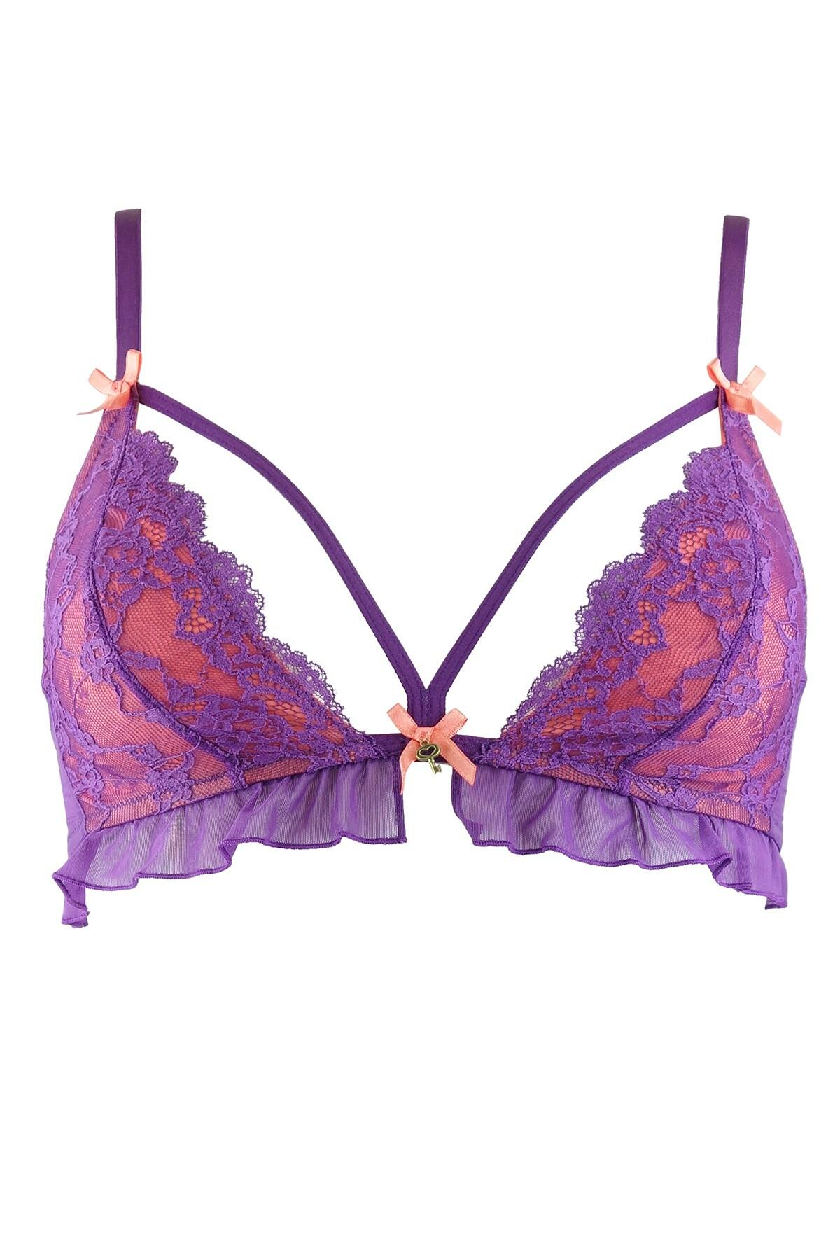 Forbidden Bralette - Purple