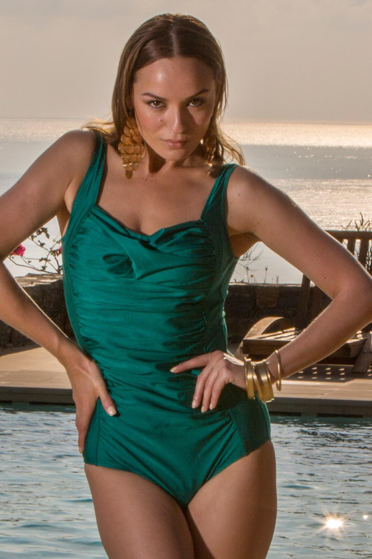 Azure Control Swimsuit - Emerald