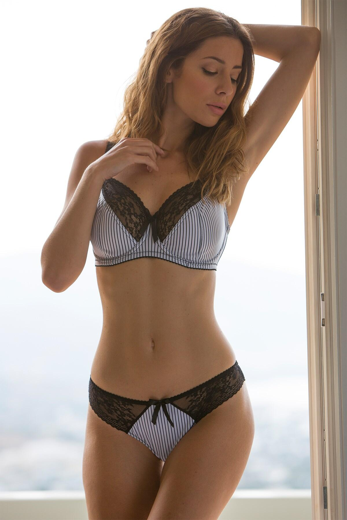 Madison Brazilian - Black Stripe