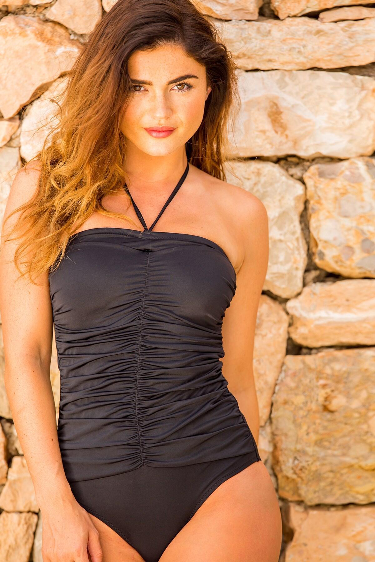 LBS Strapless Suit - Black