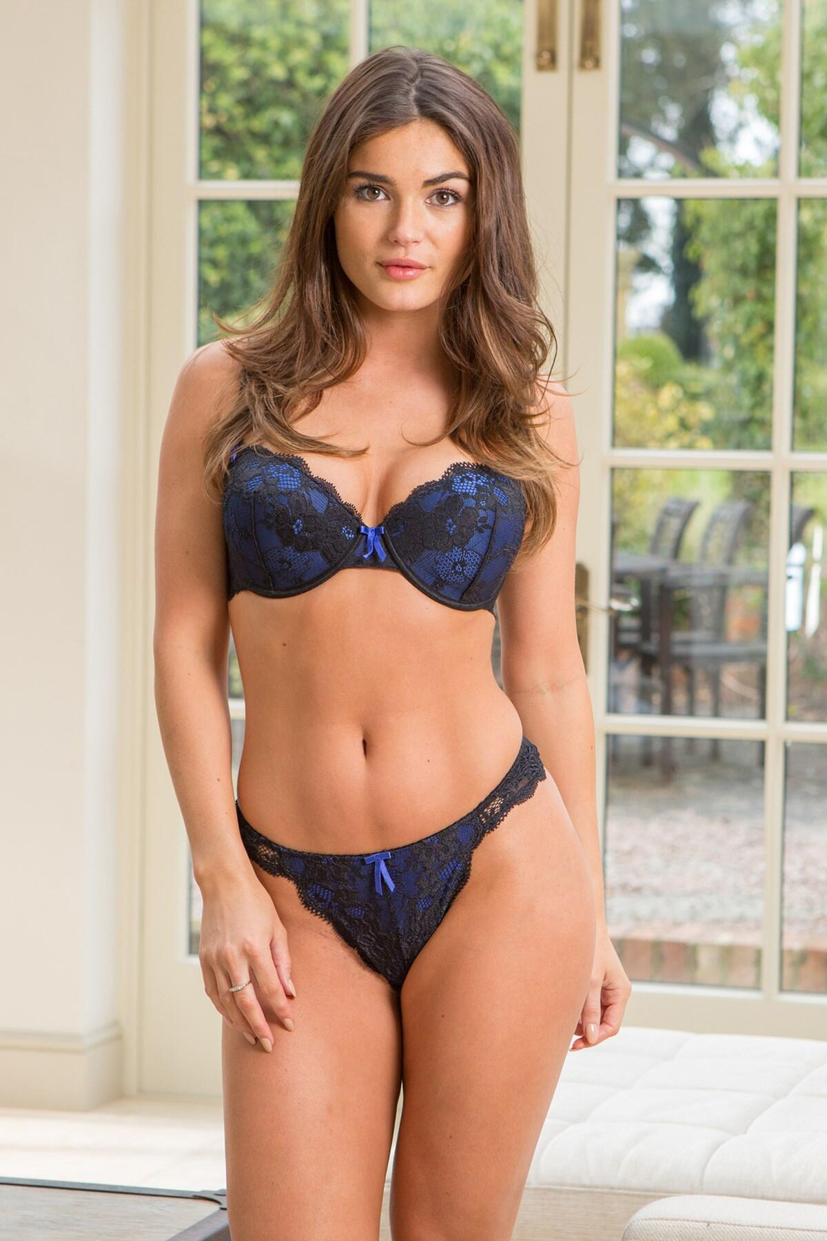 POUR Moi Amour padded bra PM-1500 Coral 32C