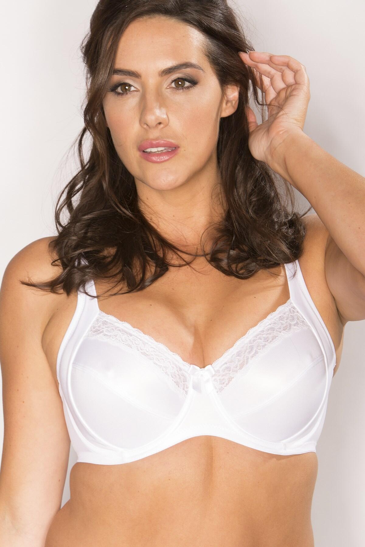 Body Comfort Side Support Bra - White