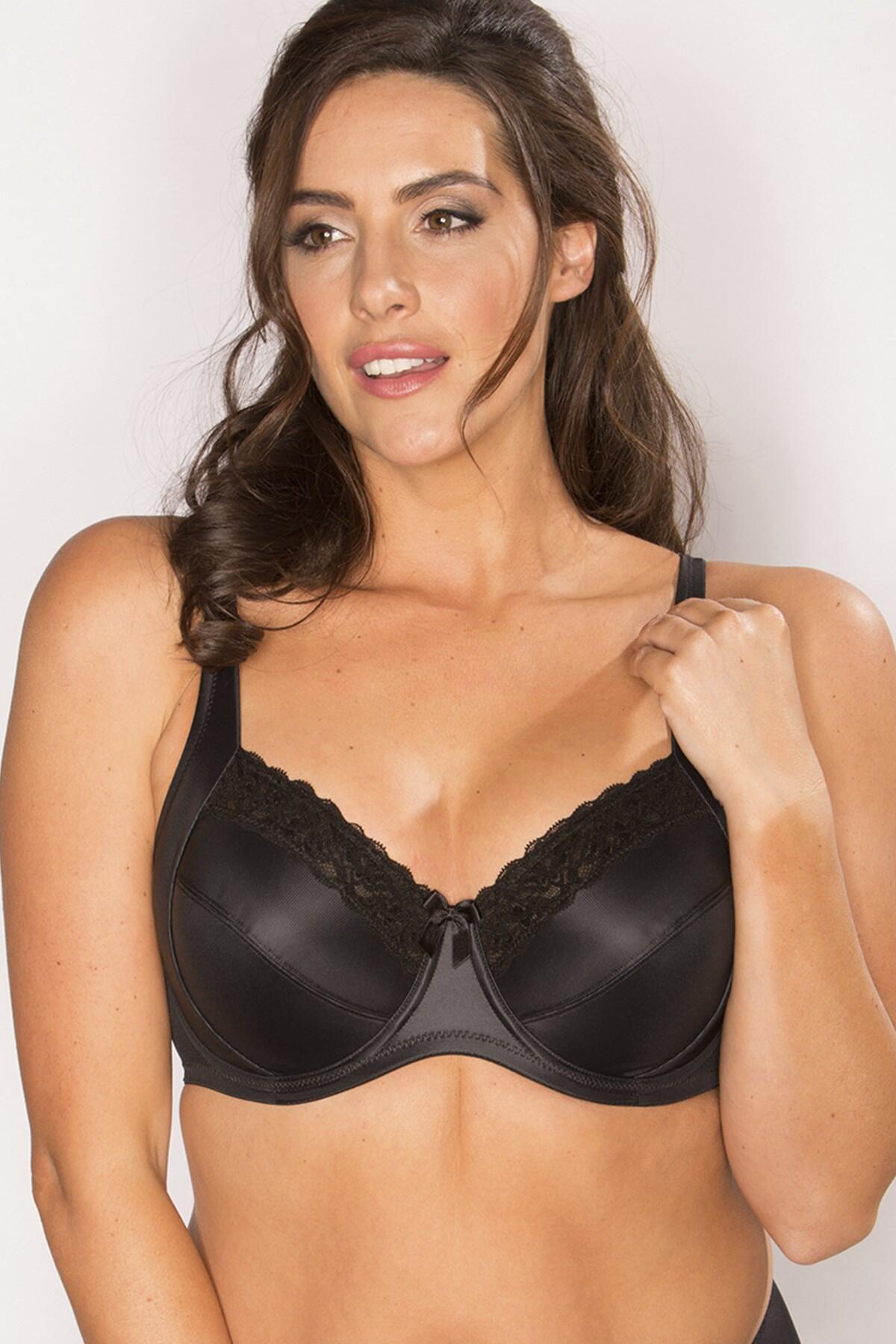 Body Comfort Side Support Bra - Black