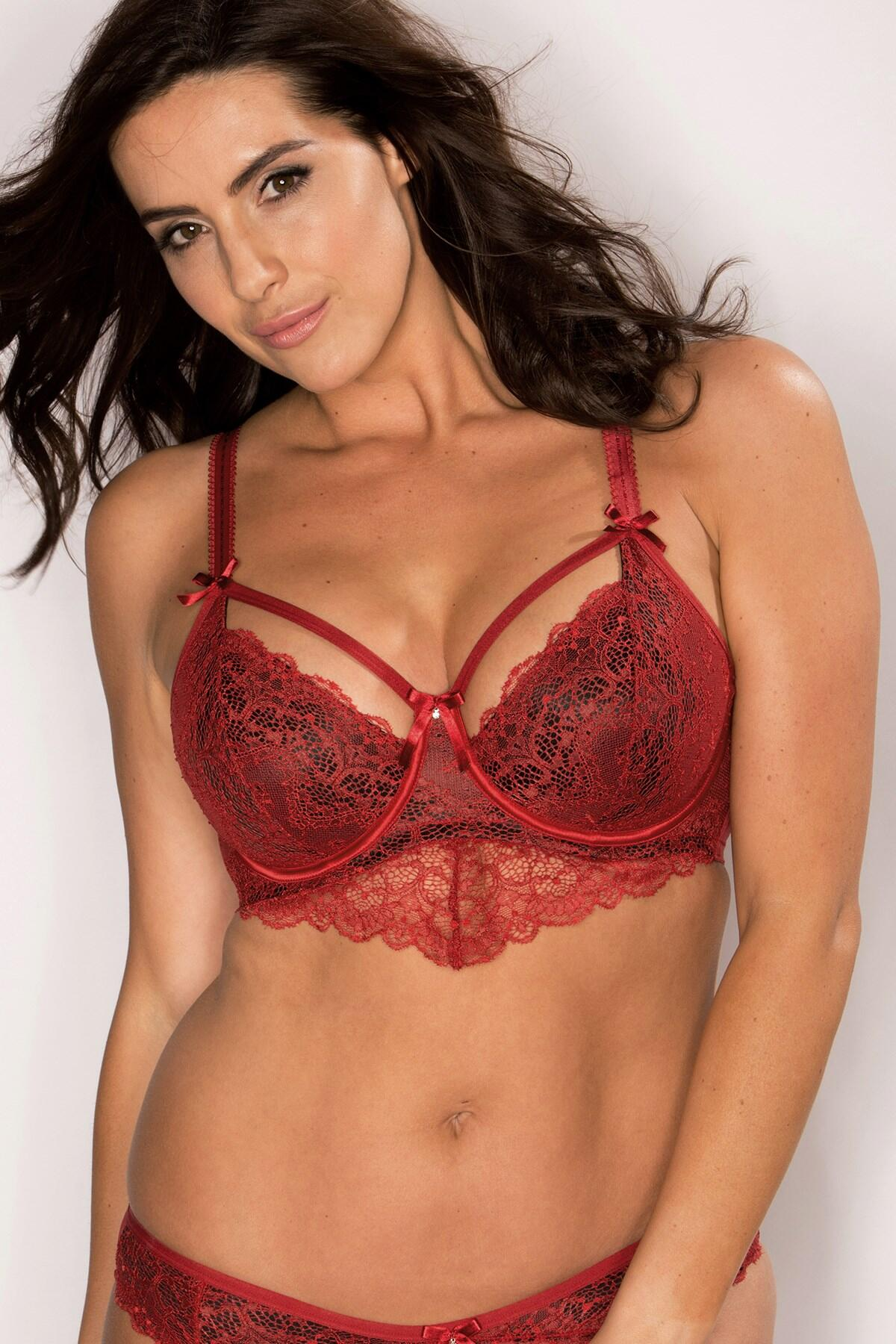 Obsession Underwired Bra - Ruby Red